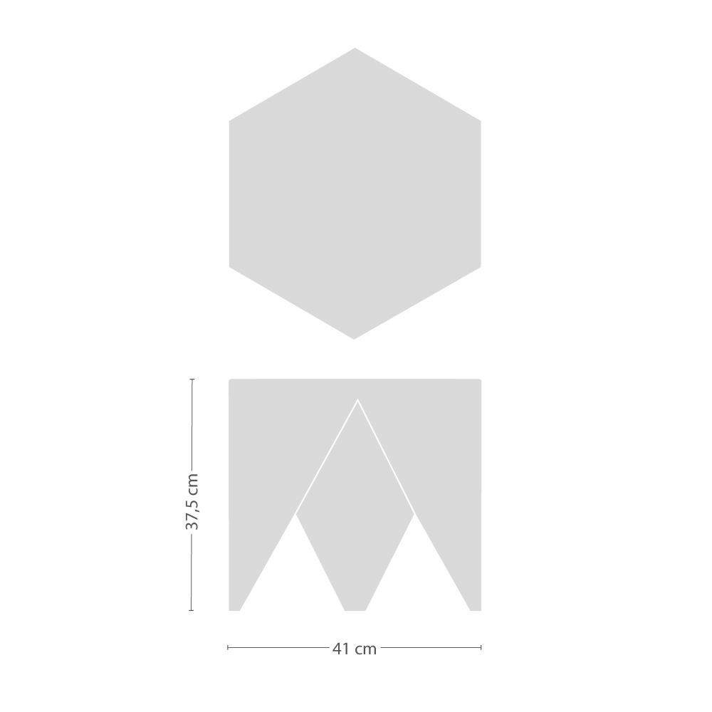 Prismatic Table Beistelltisch