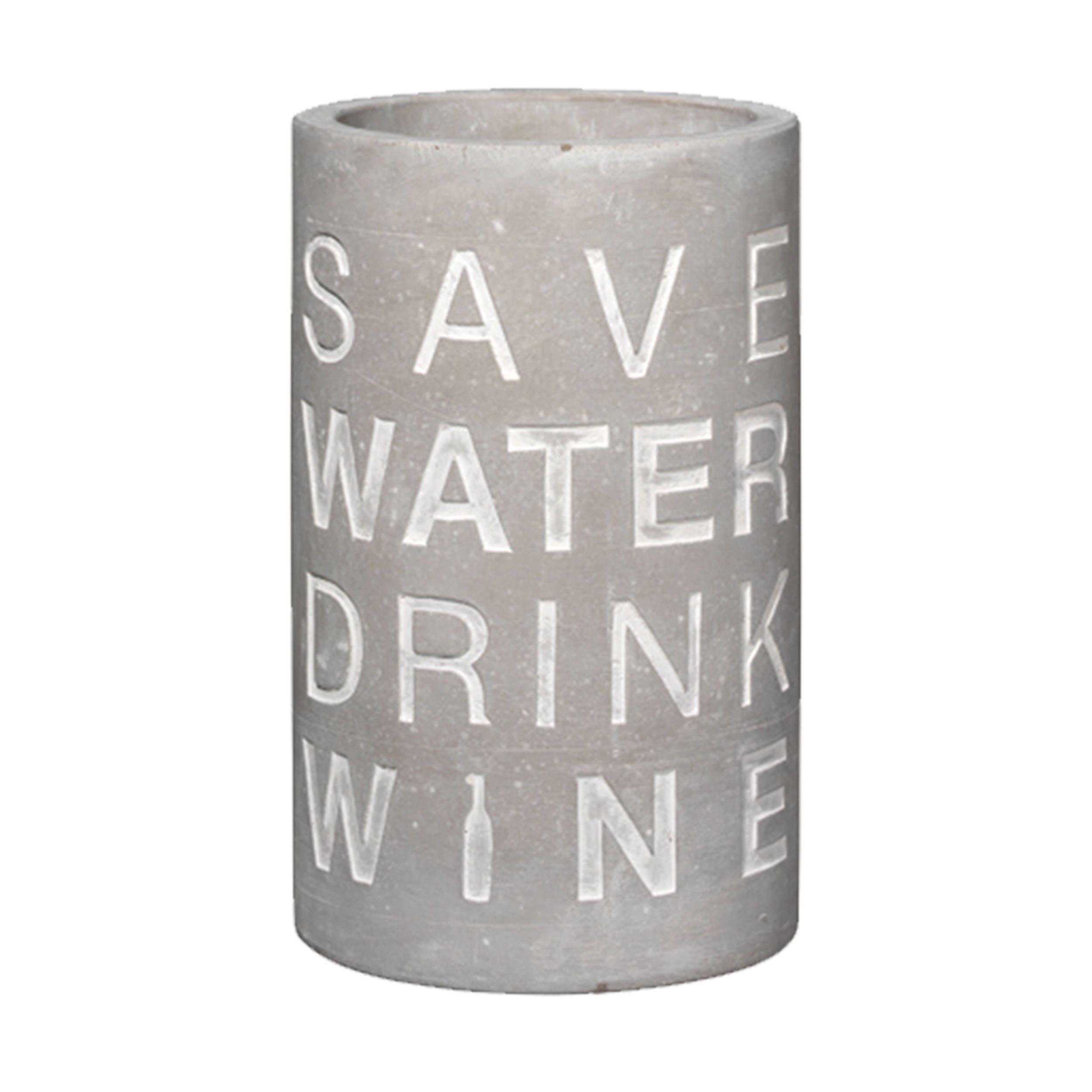 Vino Beton Save Water Drink Wine Flaschenkühler