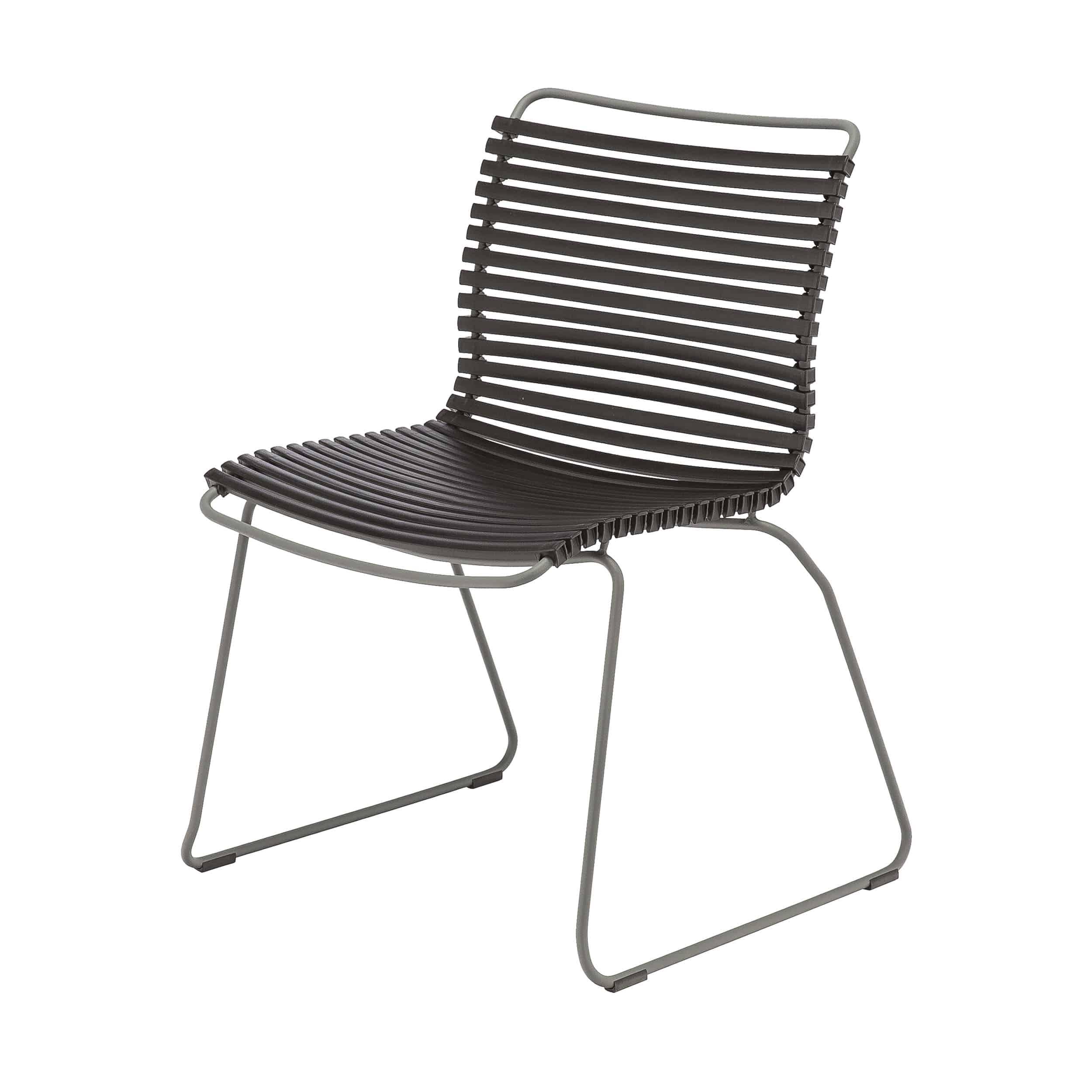 Click Stuhl mit Kufengestell