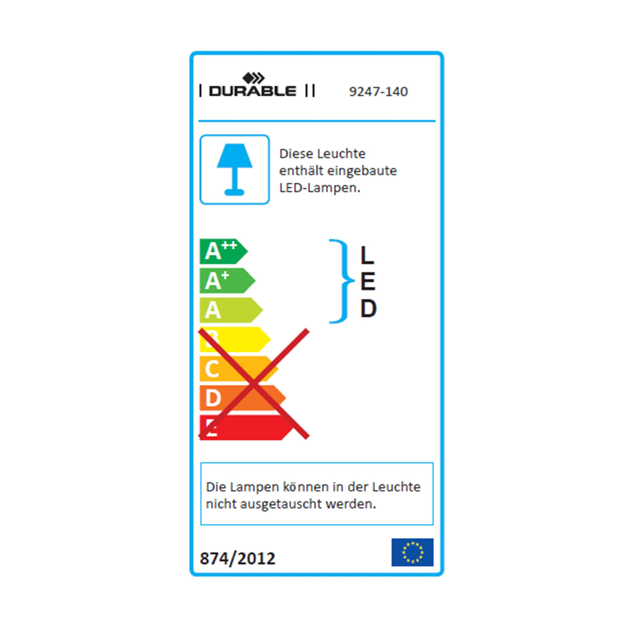 Vitawork®7 PIR LED Stehleuchte