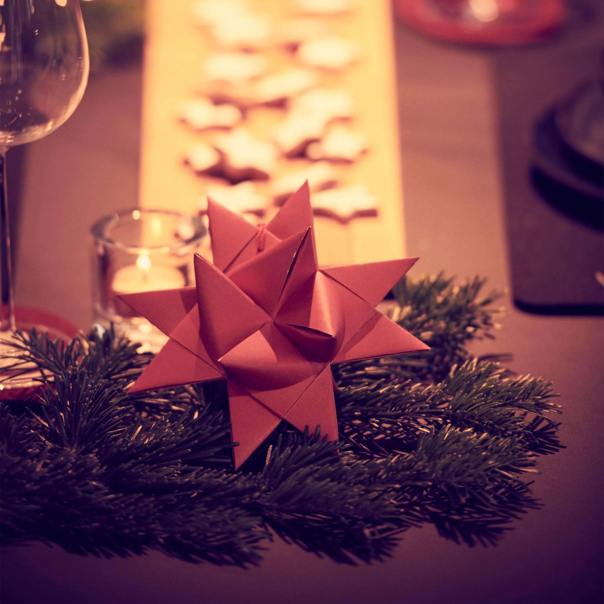 Deco Star Weihnachtsstern 3er-Set