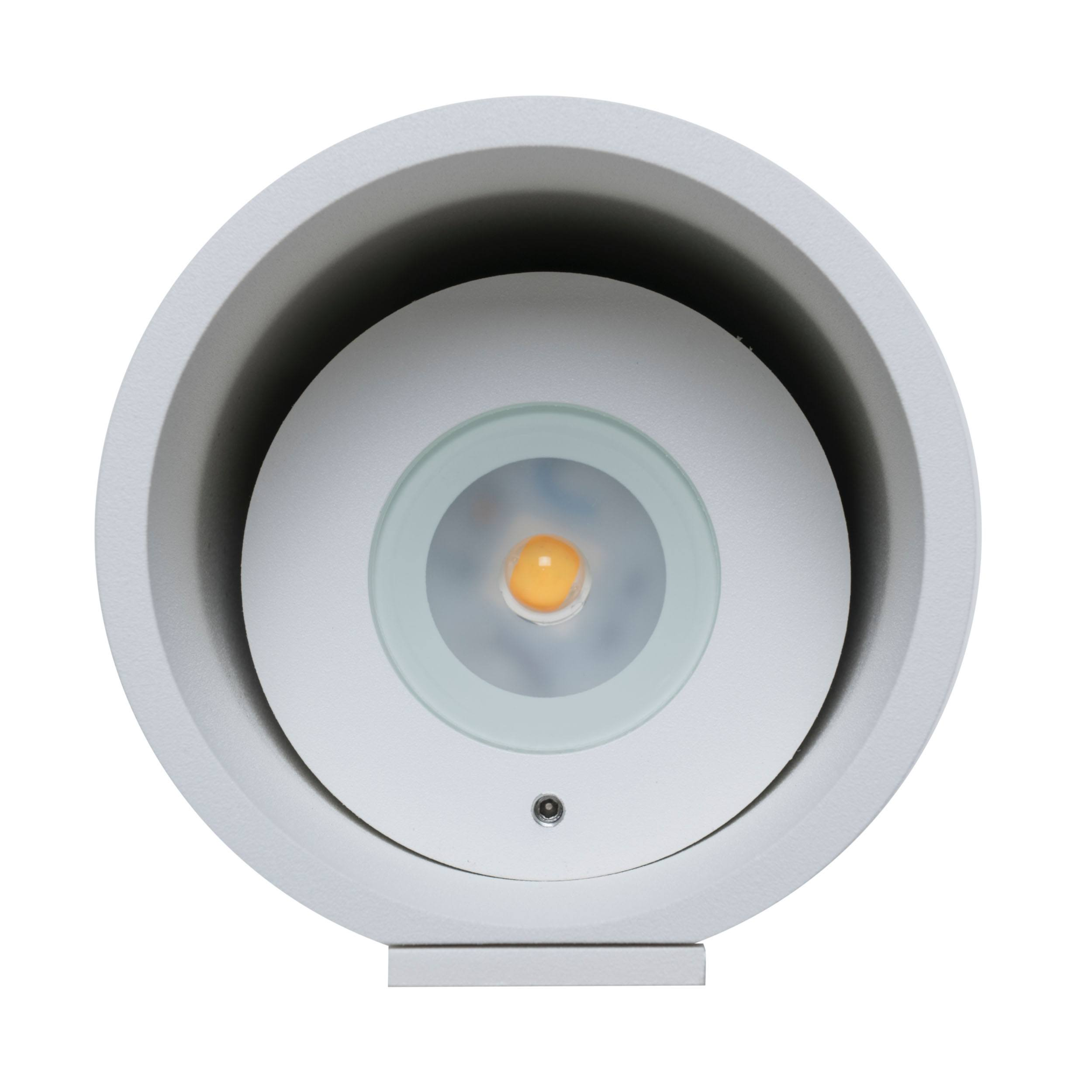 Tubo In- und Outdoor LED Wandleuchte