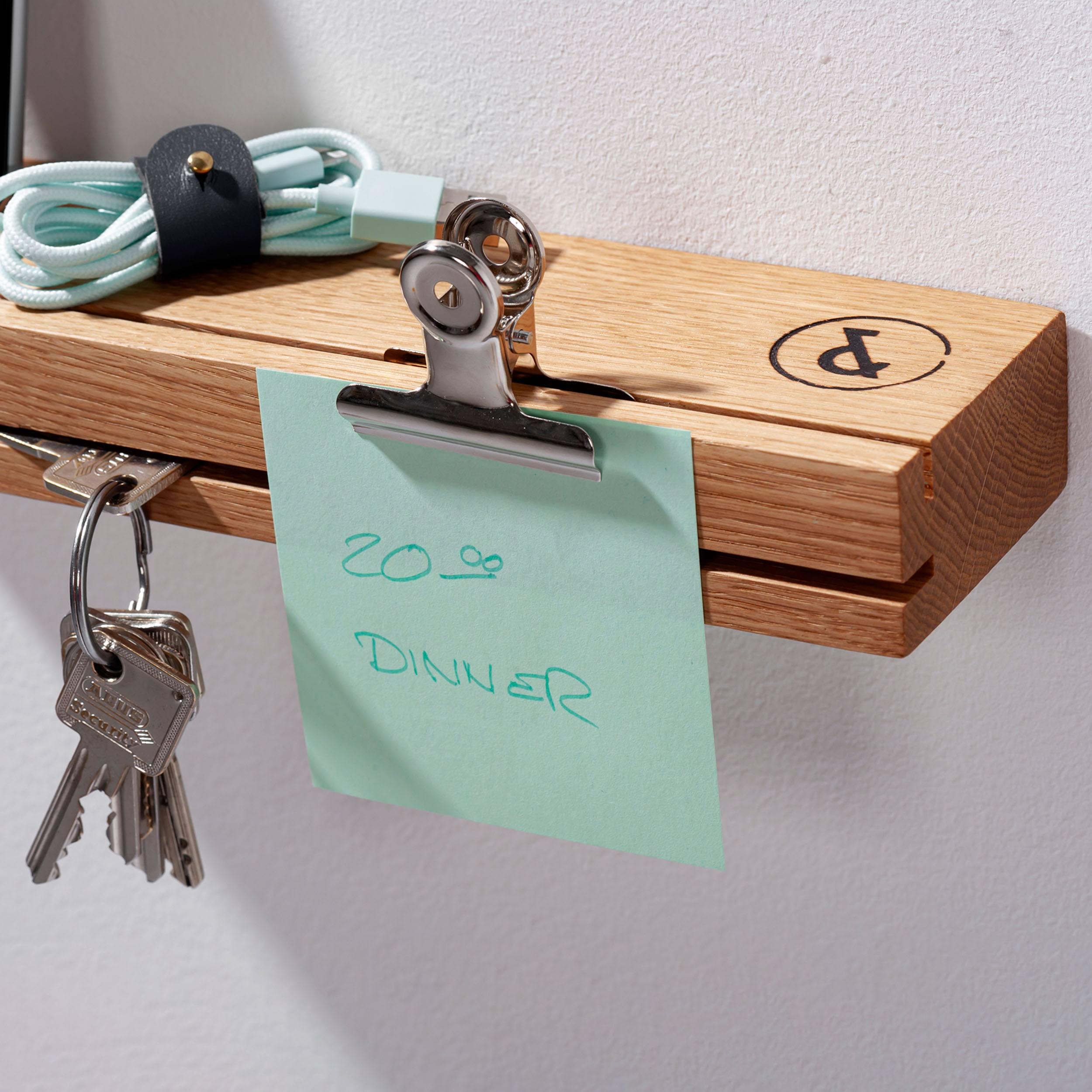 Eiche Schlüsselbrett