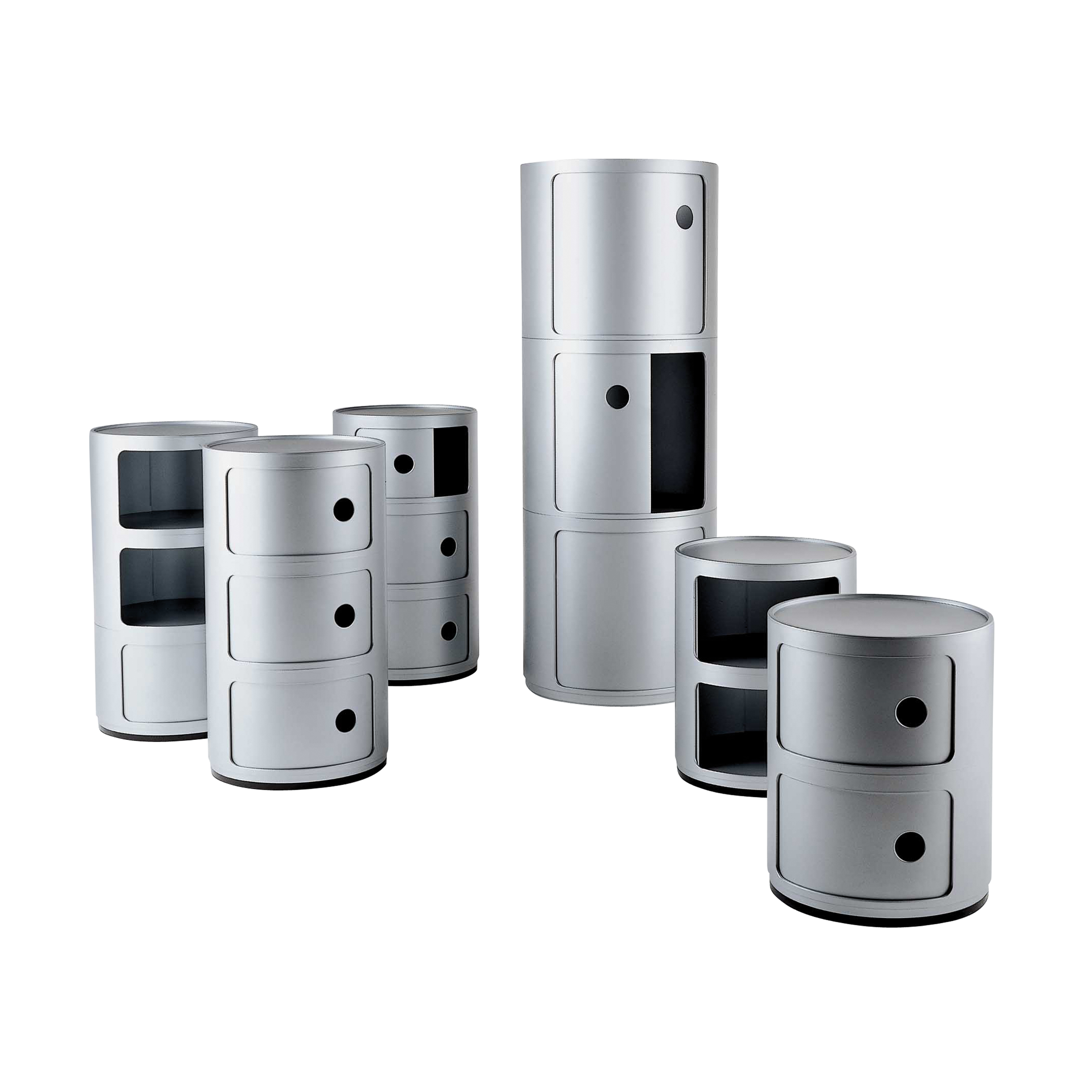 Componibili Containermöbel 3 Elemente
