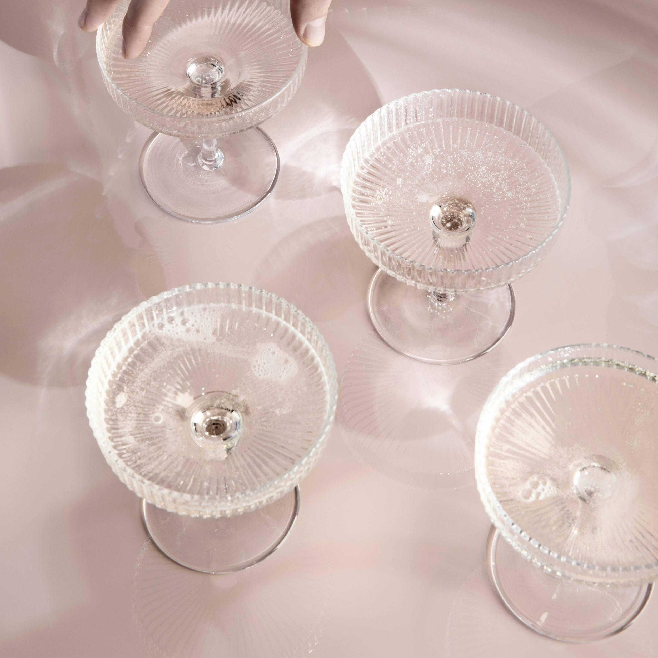 Ripple Champagnerglas 2er-Set