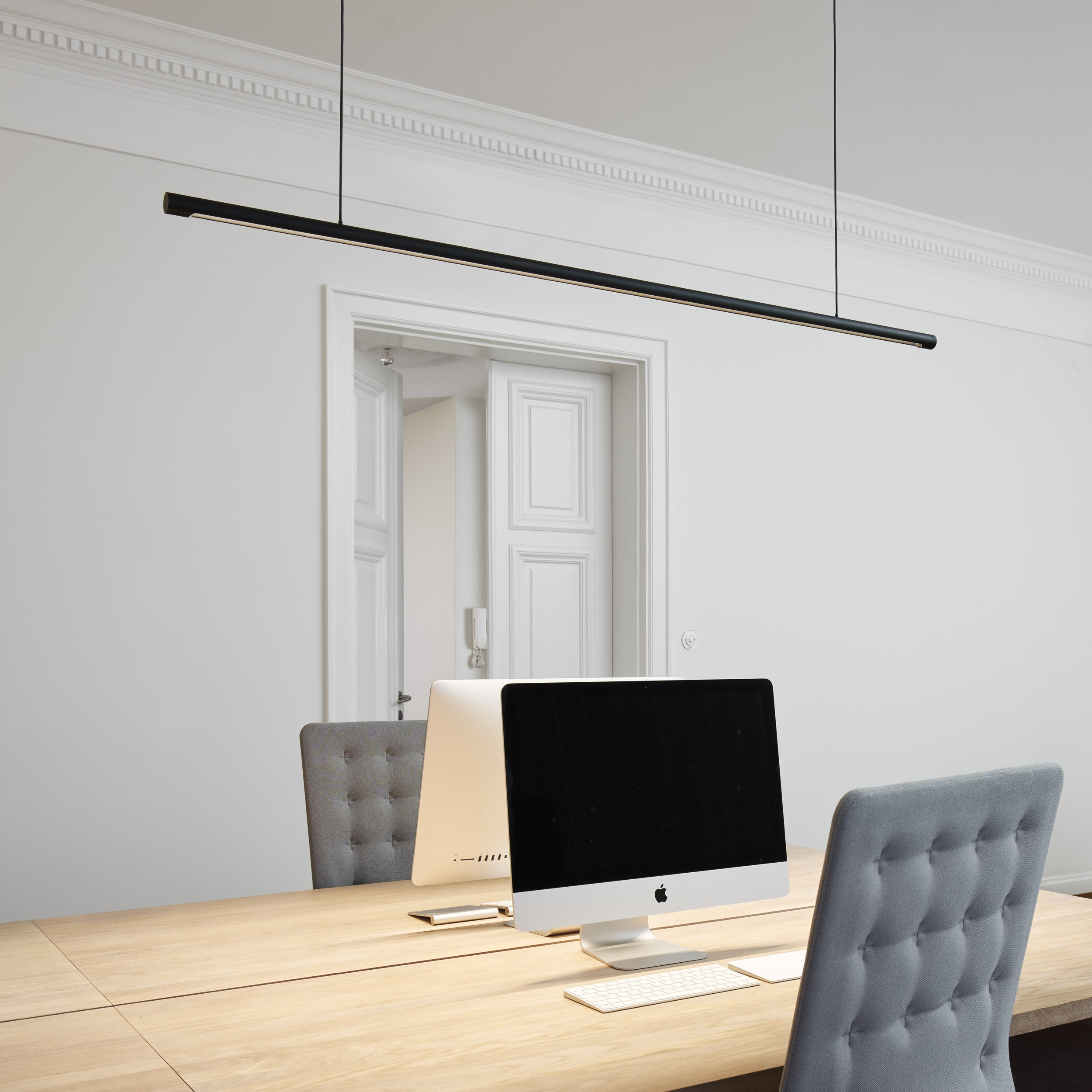 W181 Linier LED Pendelleuchte tageshell