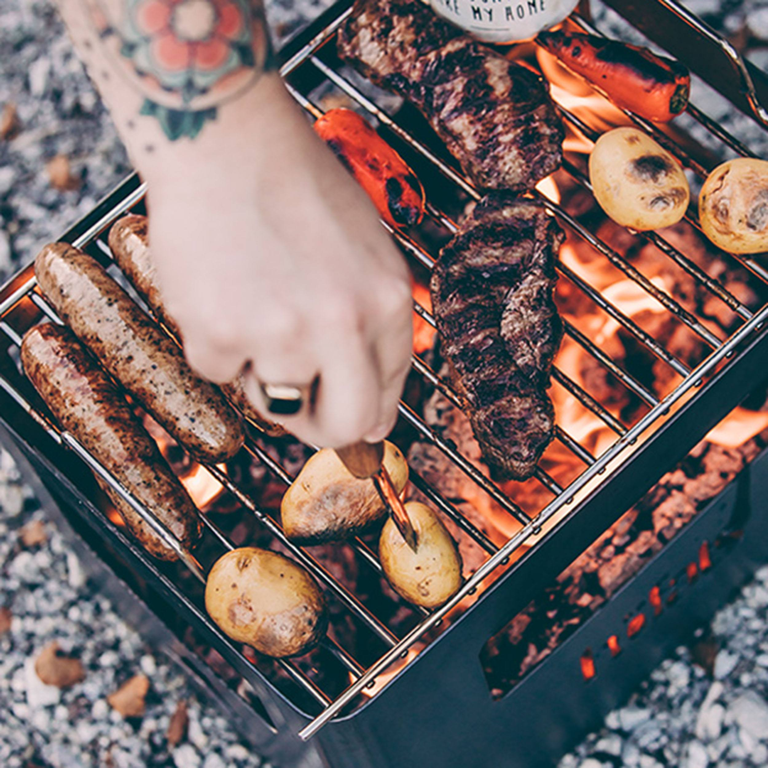 Beer Box Grillrost