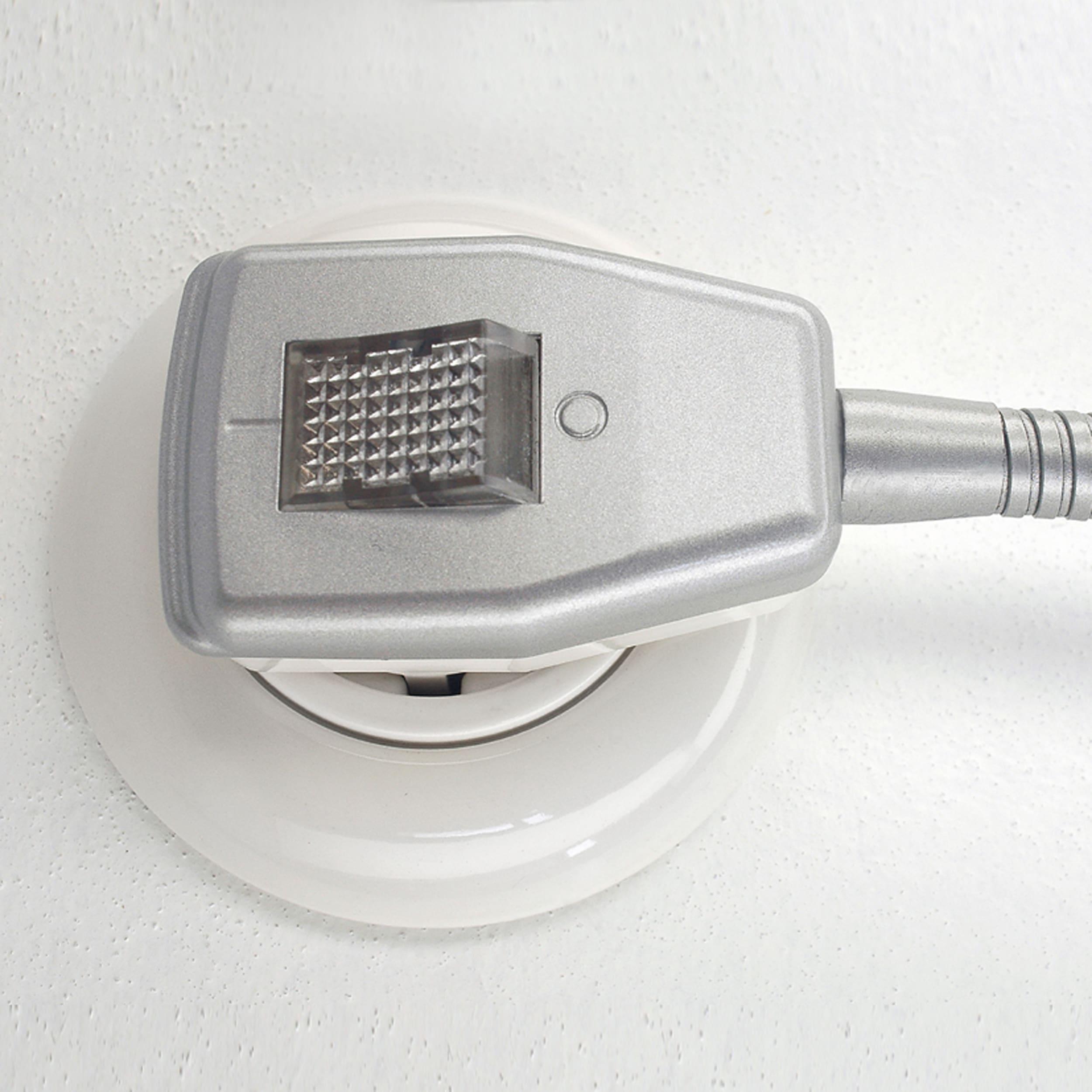 Glühwürmchen Metallikus m. glattem Textilschirm