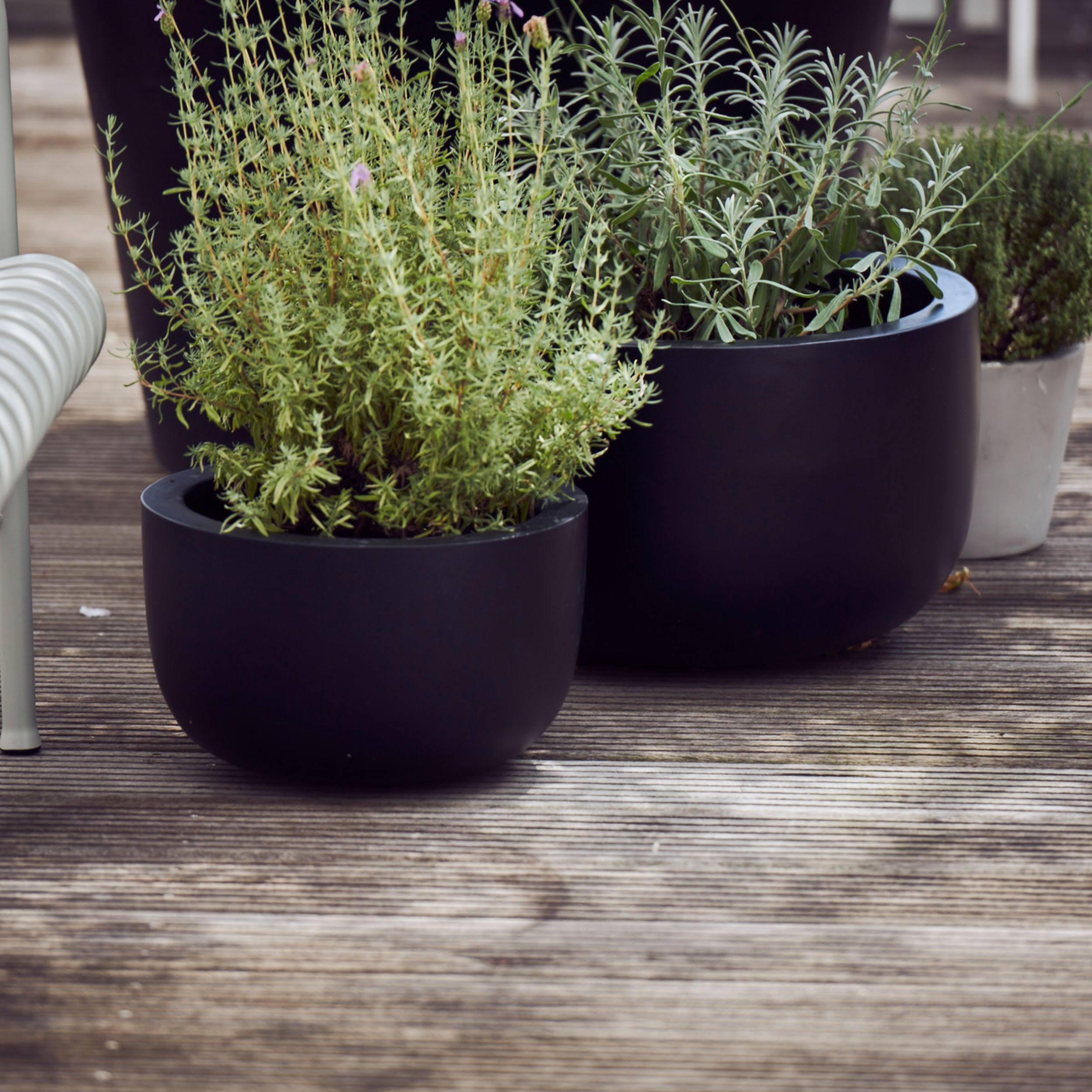 Stonefiber Pot Schale Blumentopf