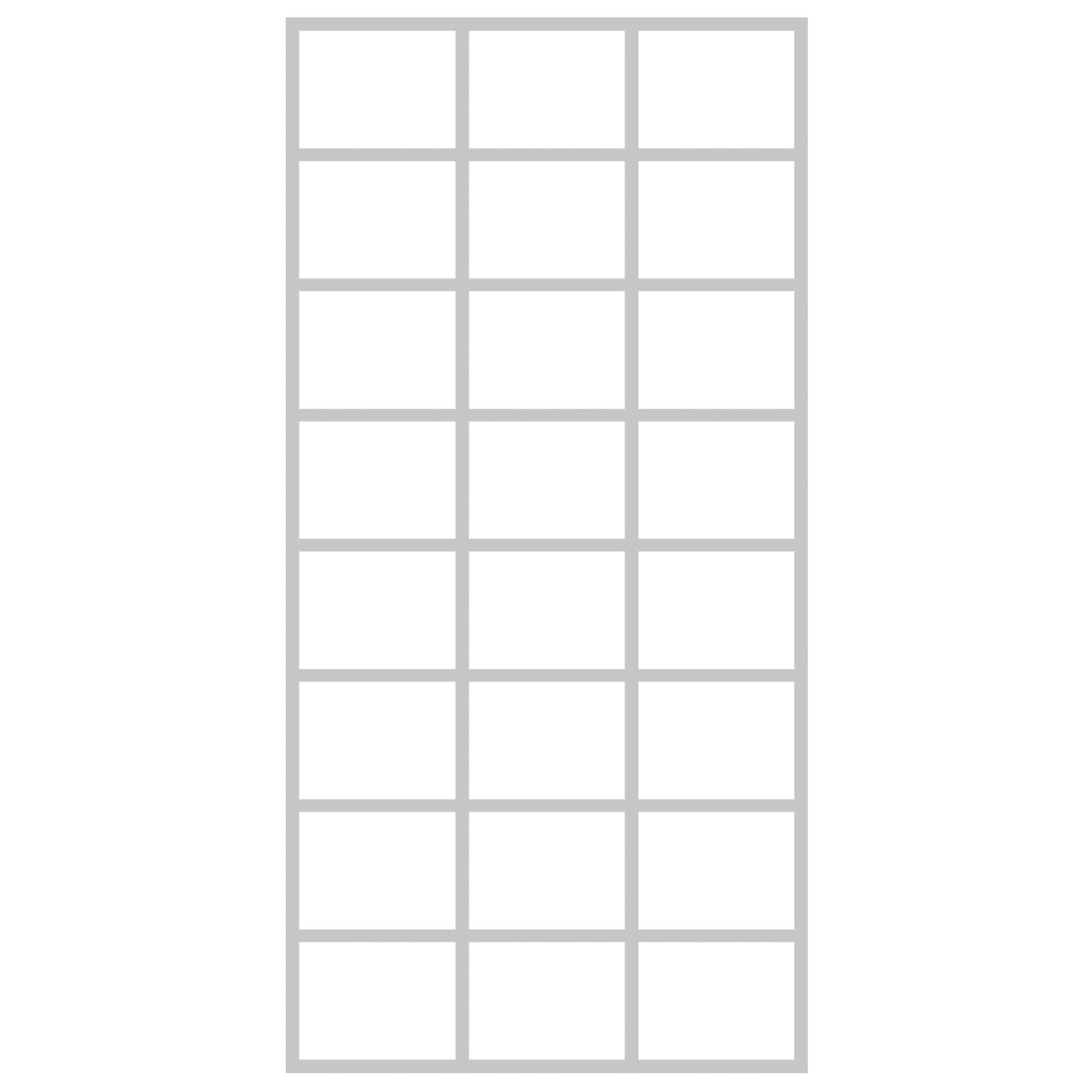 Krossing Regal für Bücher – 24 Fächer