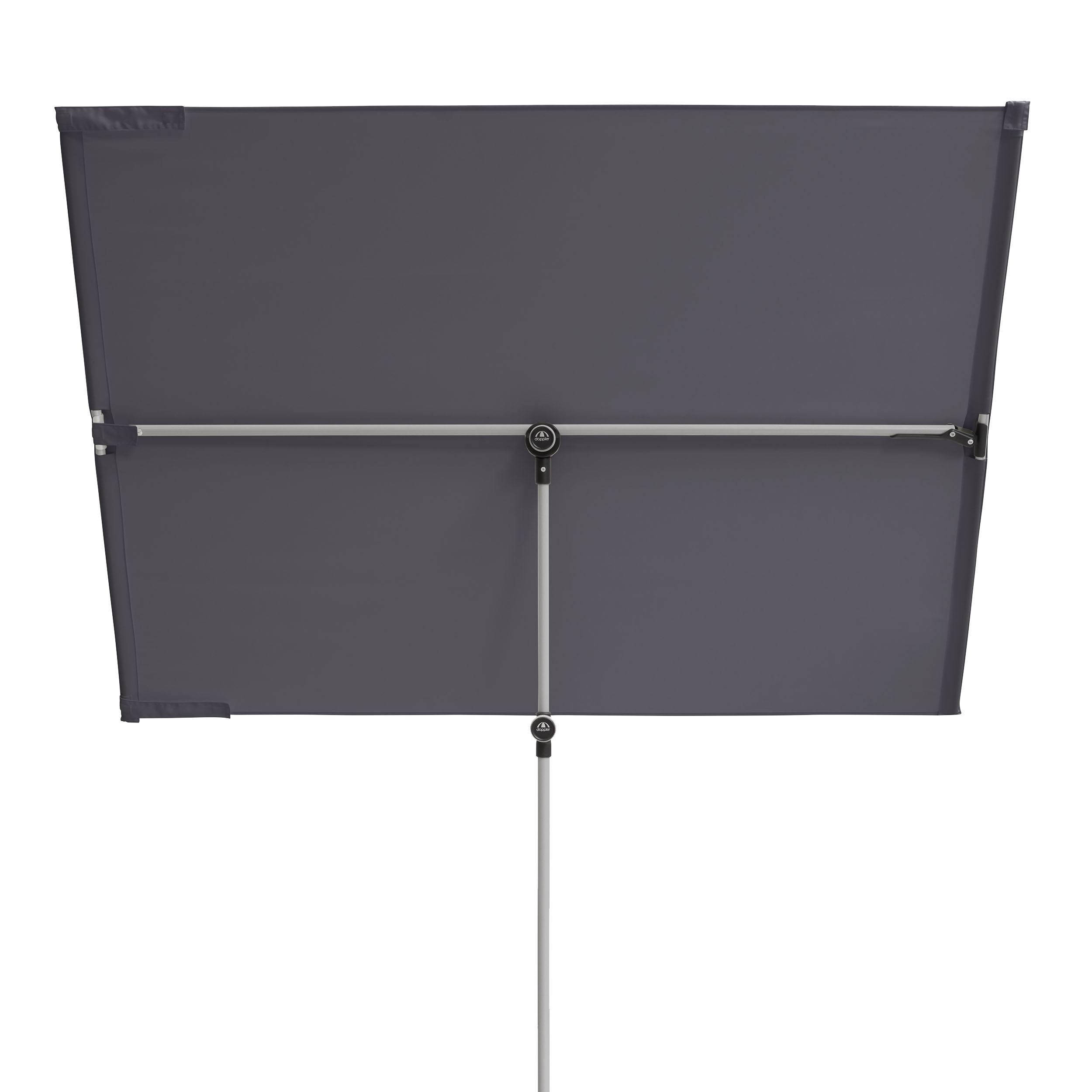 Active Balkonblende Sicht- und Sonnenschutz ohne Schirmständer