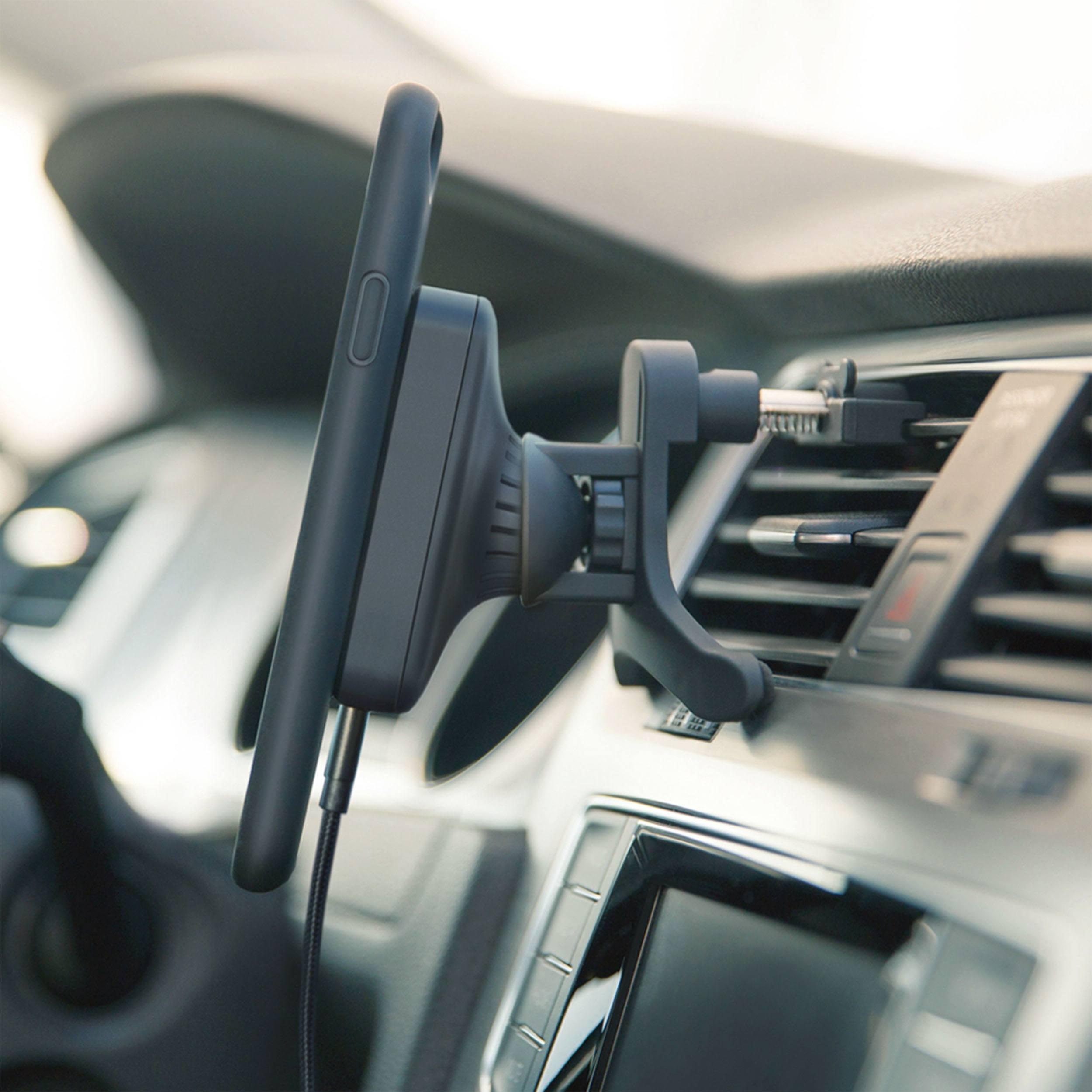 Magnetic Qi Charger Auto Ladestation für Lüftung
