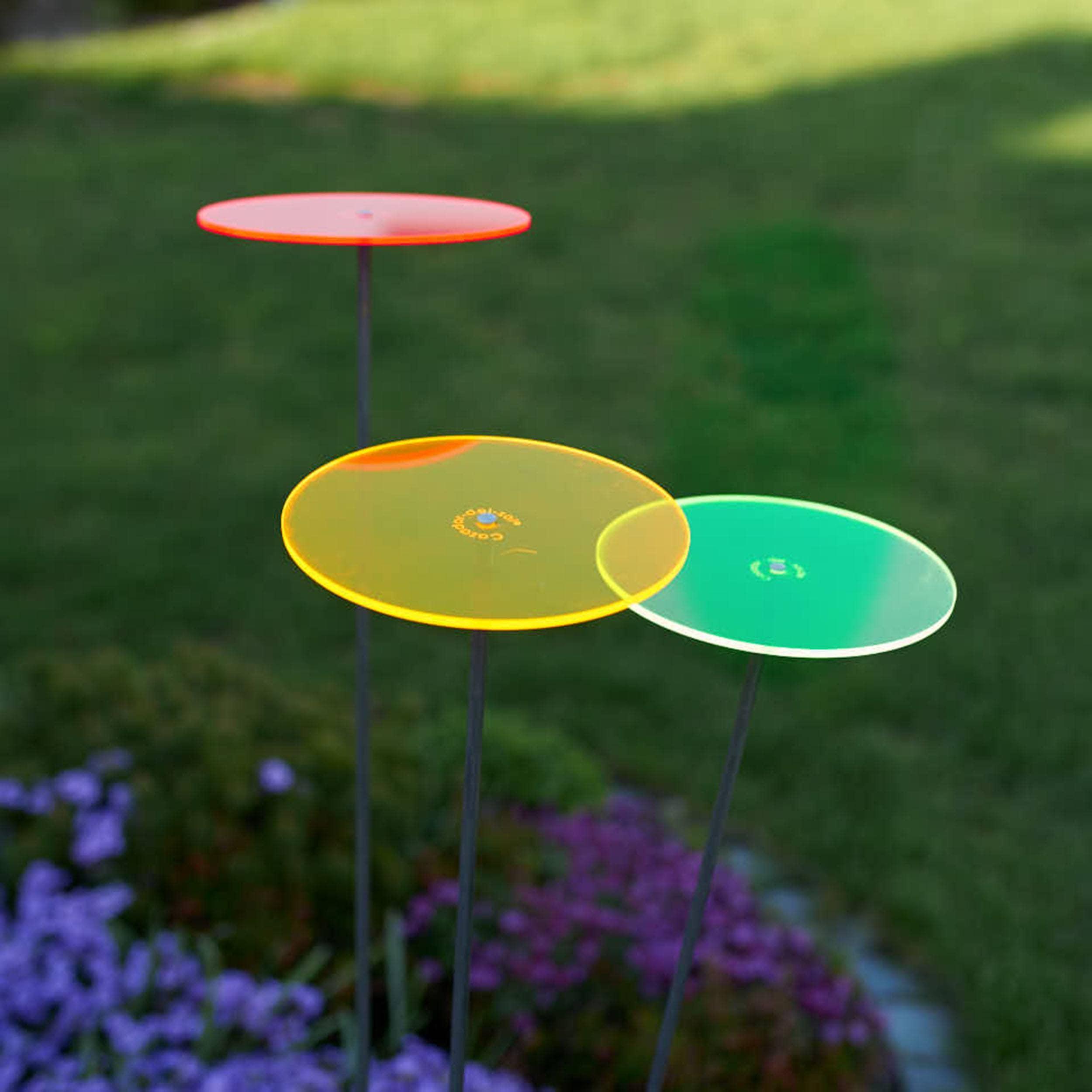 Cazador-del-sol® tres multicolor medio Sonnenfänger 3er-Set