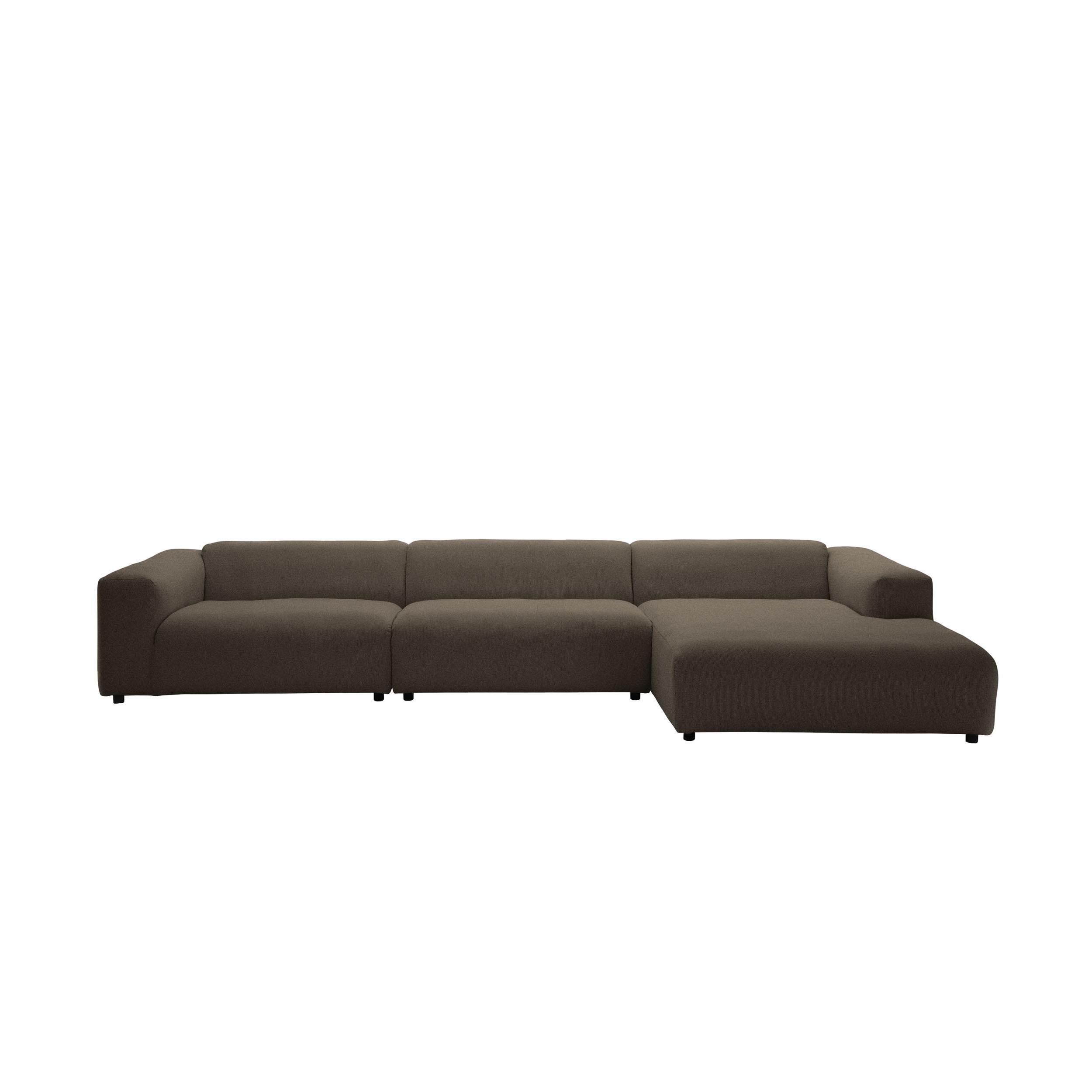 freistil 187 Sofa 2,5-Sitzer mit Longchair rechts