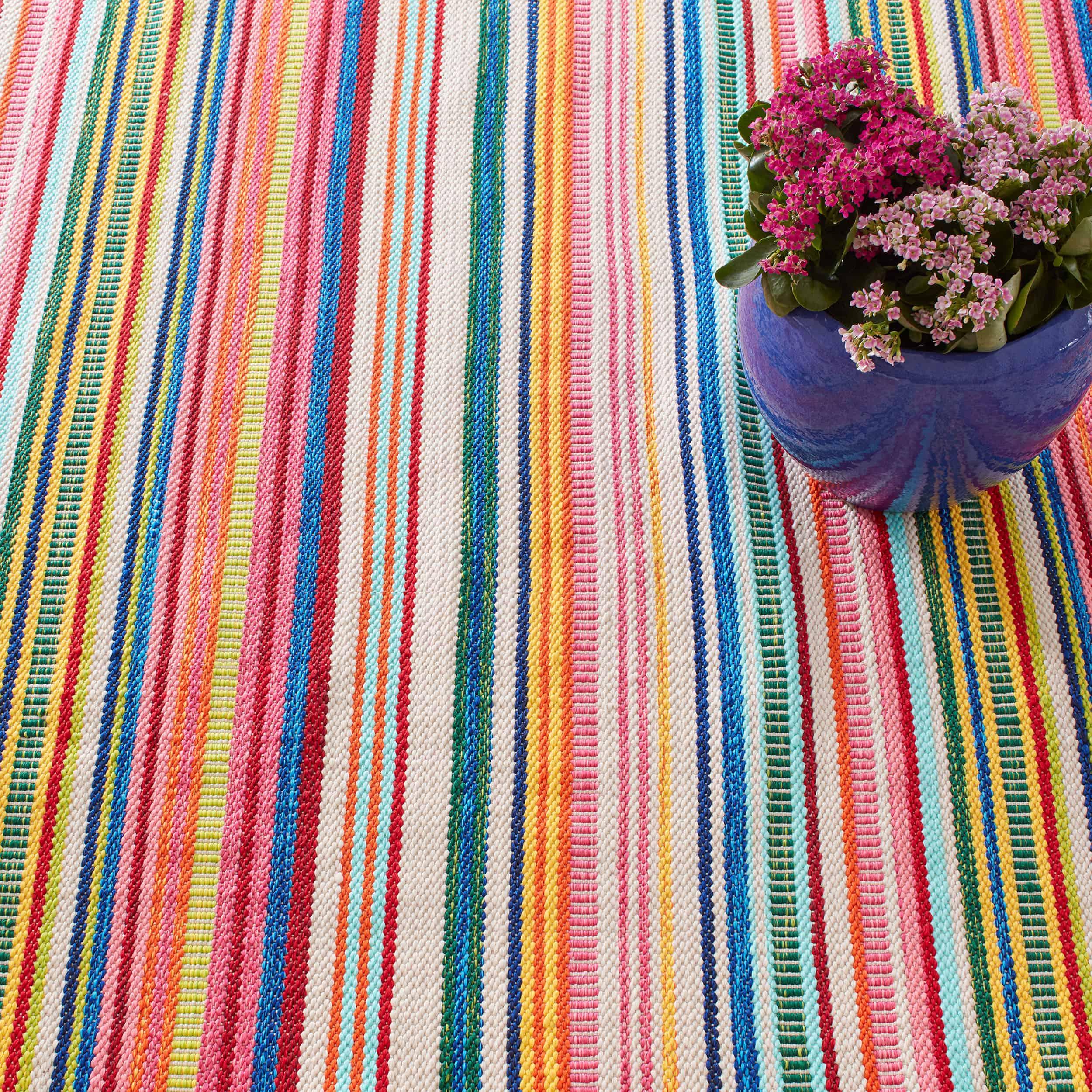 Bright Stripe Outdoorteppich
