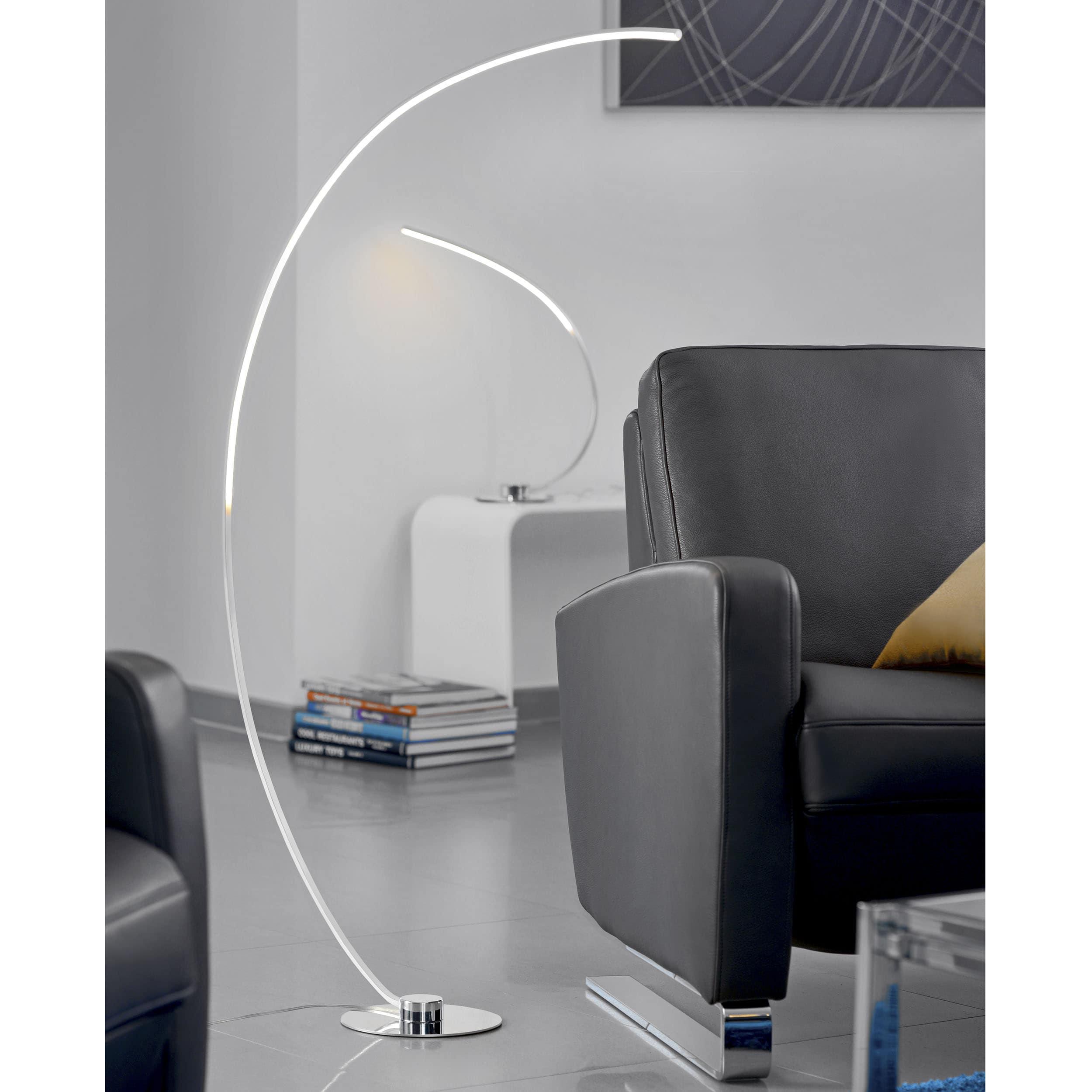 Curve LED Stehleuchte
