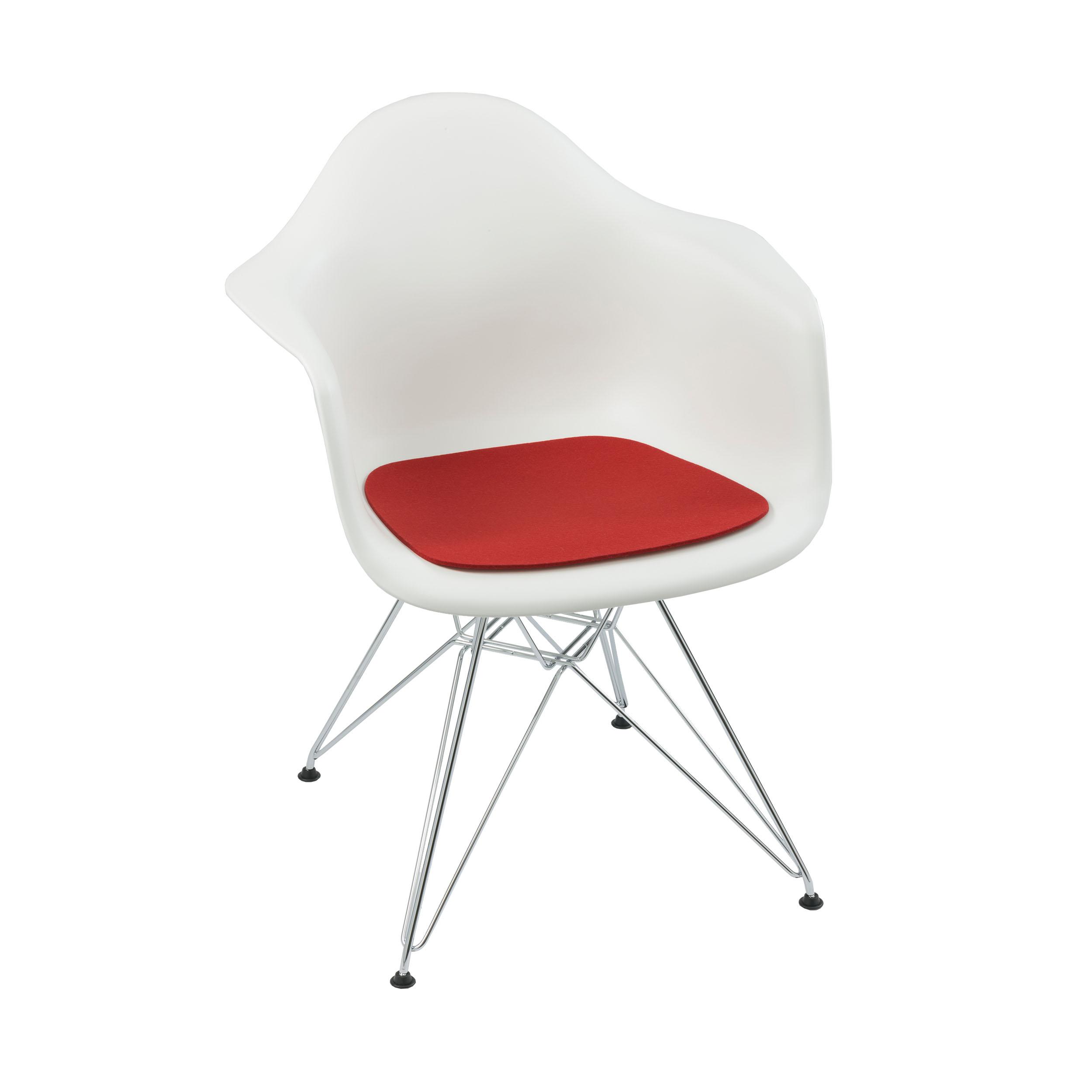 Sitzauflage 1-lagig für Eames Armchair