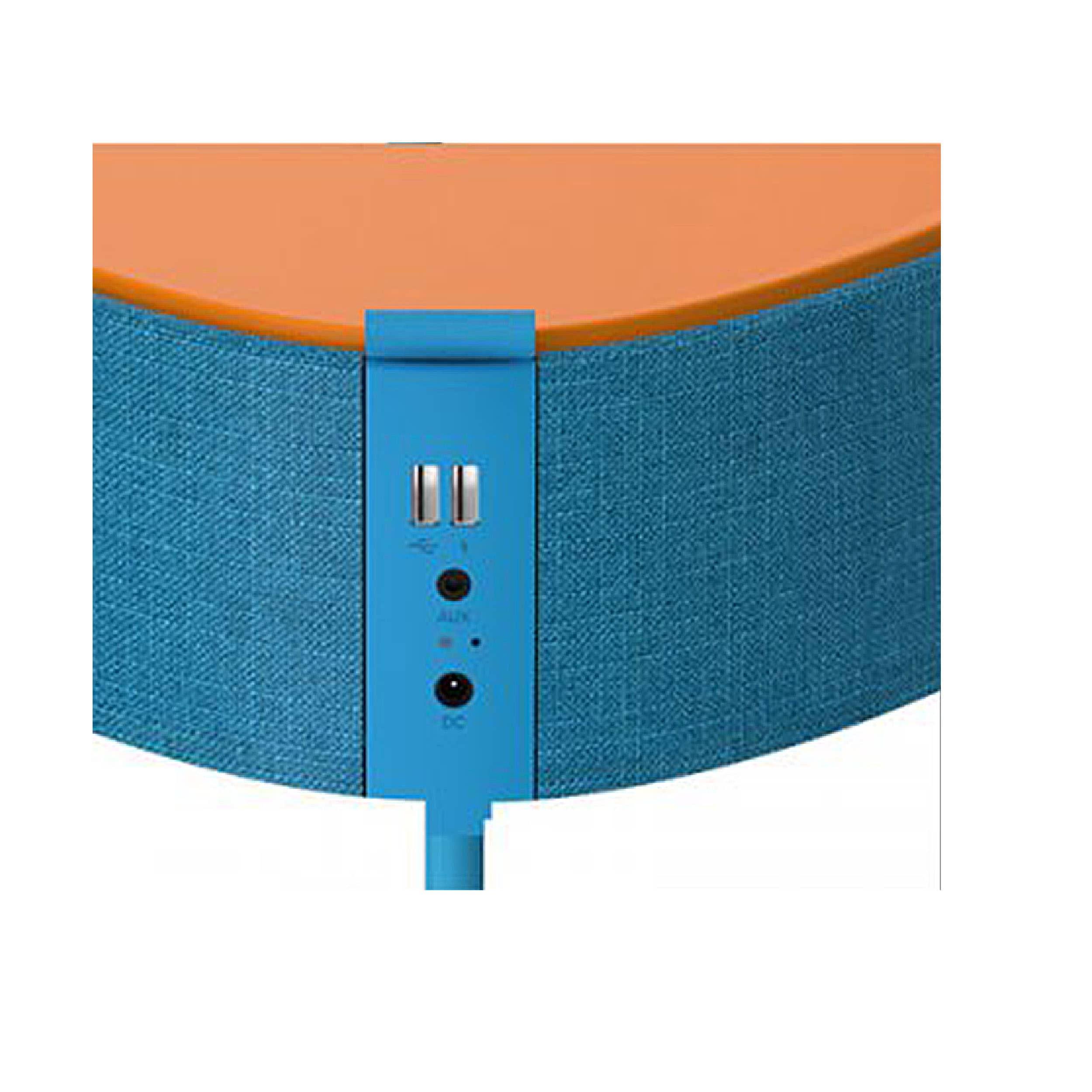 Mesu Beistelltisch mit BT Lautsprecher und Wireless Ladestation