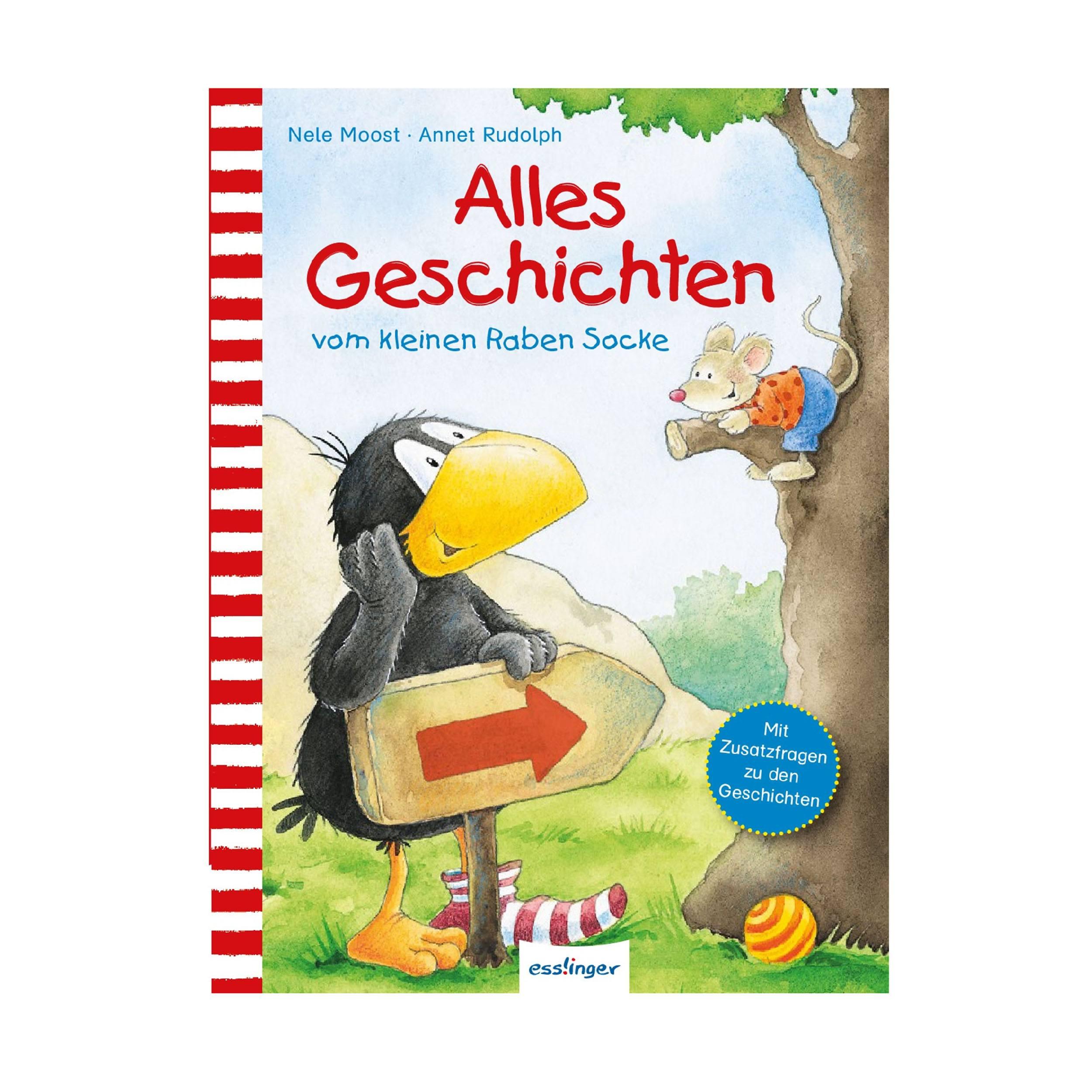 Alles Geschichten vom kleinen Raben Kinderbuch