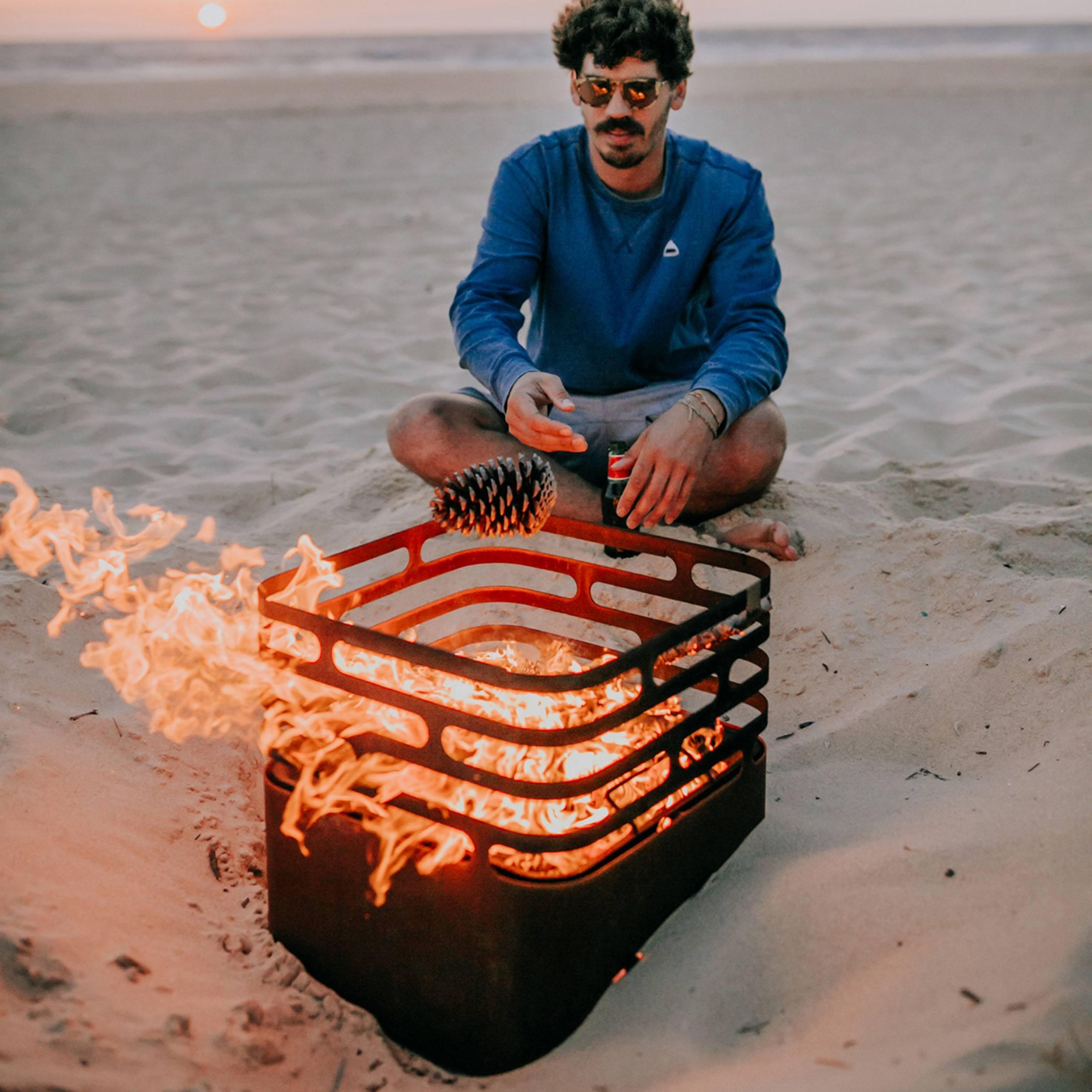 Cube Feuerkorb