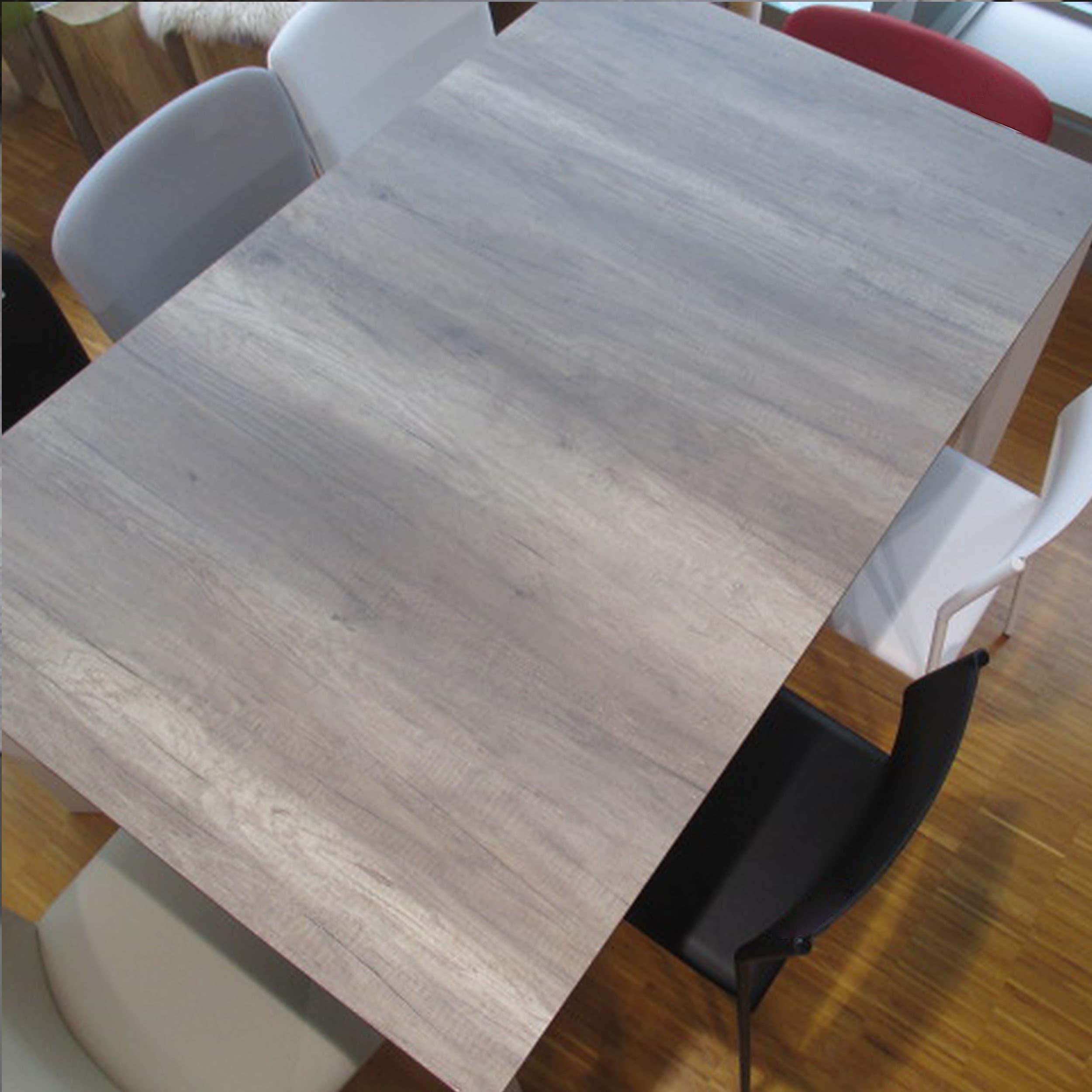 Quadrat HPL Tisch Gestell Alu