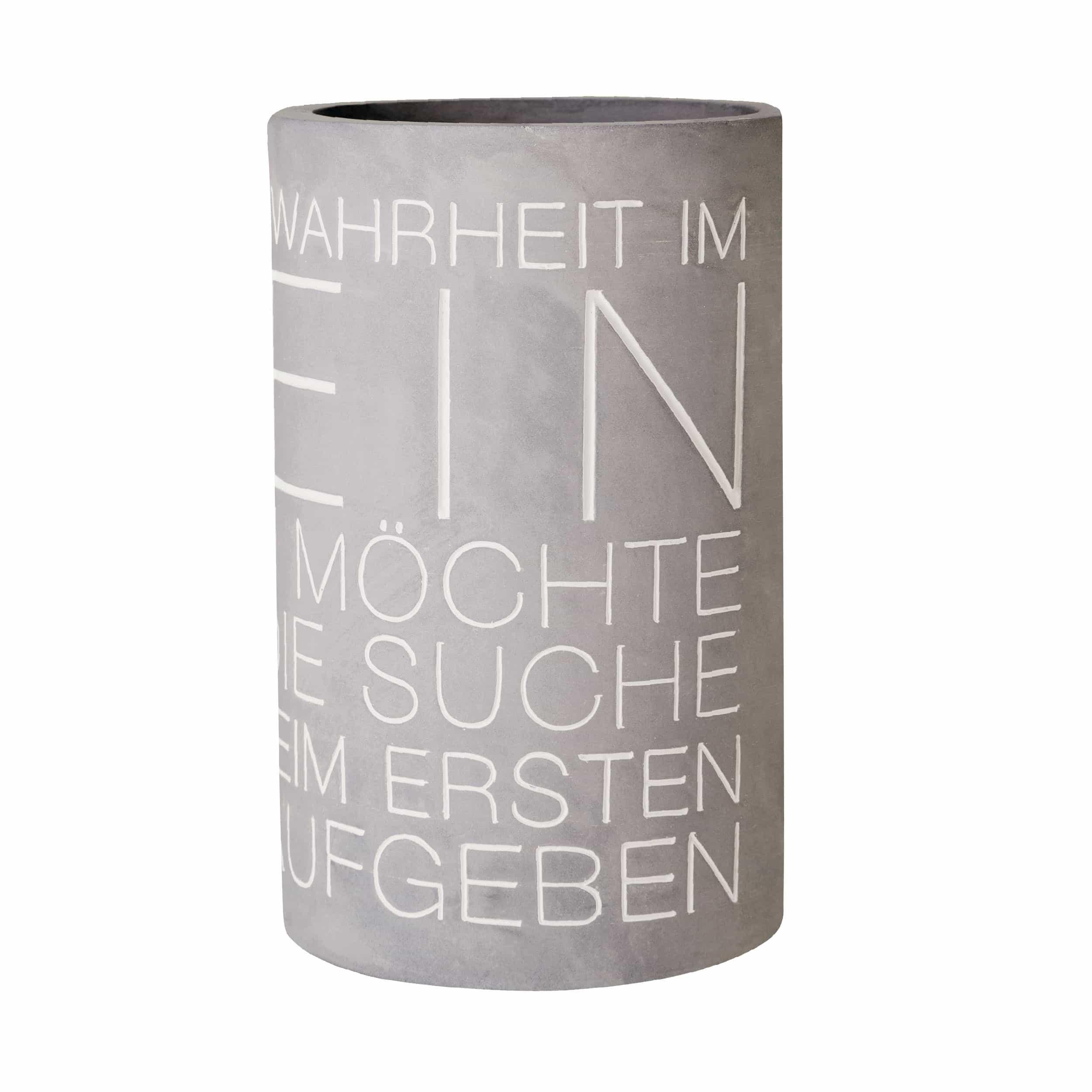Vino Beton Wahrheit Flaschenkühler