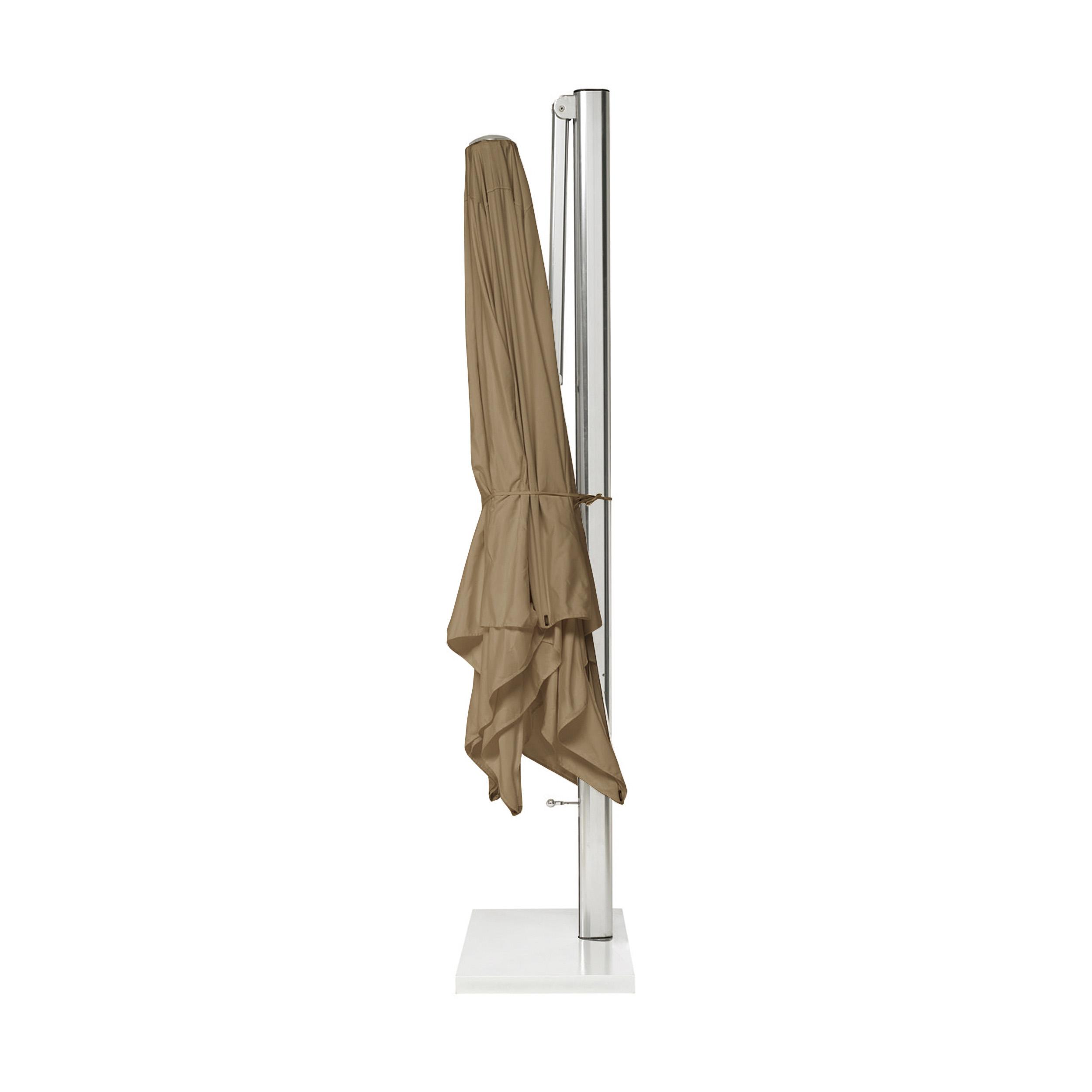 Shade Ampelschirm inkl. Schirmständer ohne Beschwerungsplatten