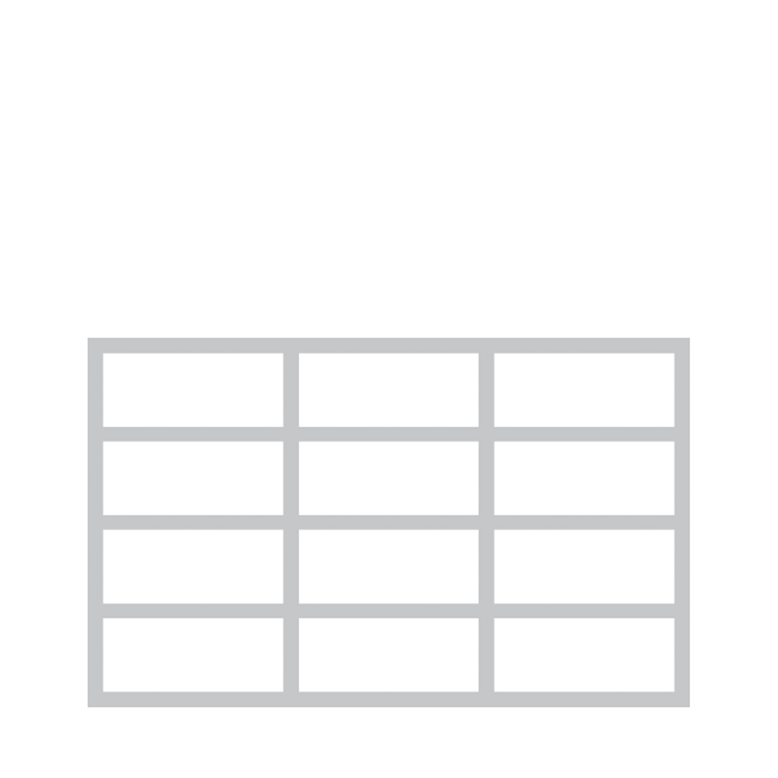 Krossing Regal für CDs – 12 Fächer