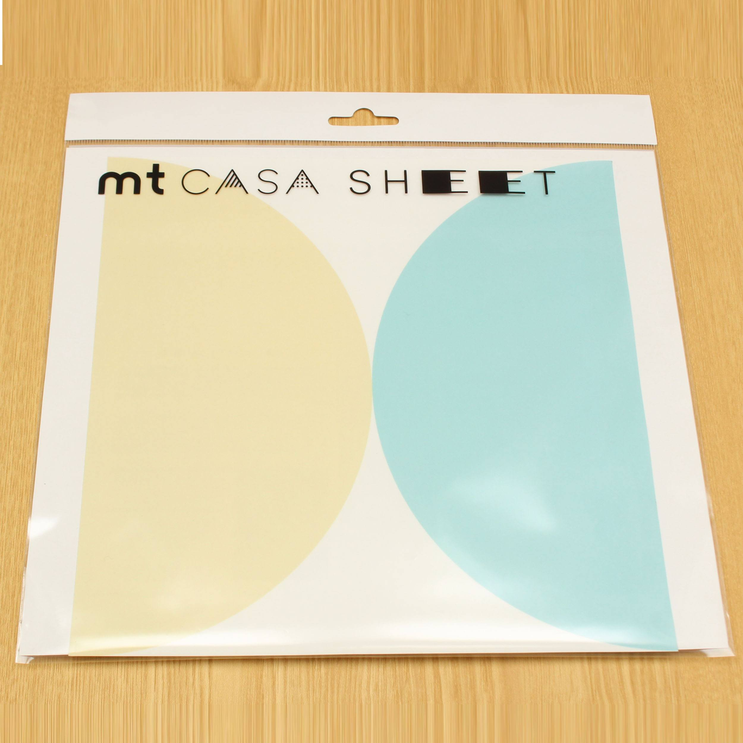 mt Casa Sheet Aufkleber Circle
