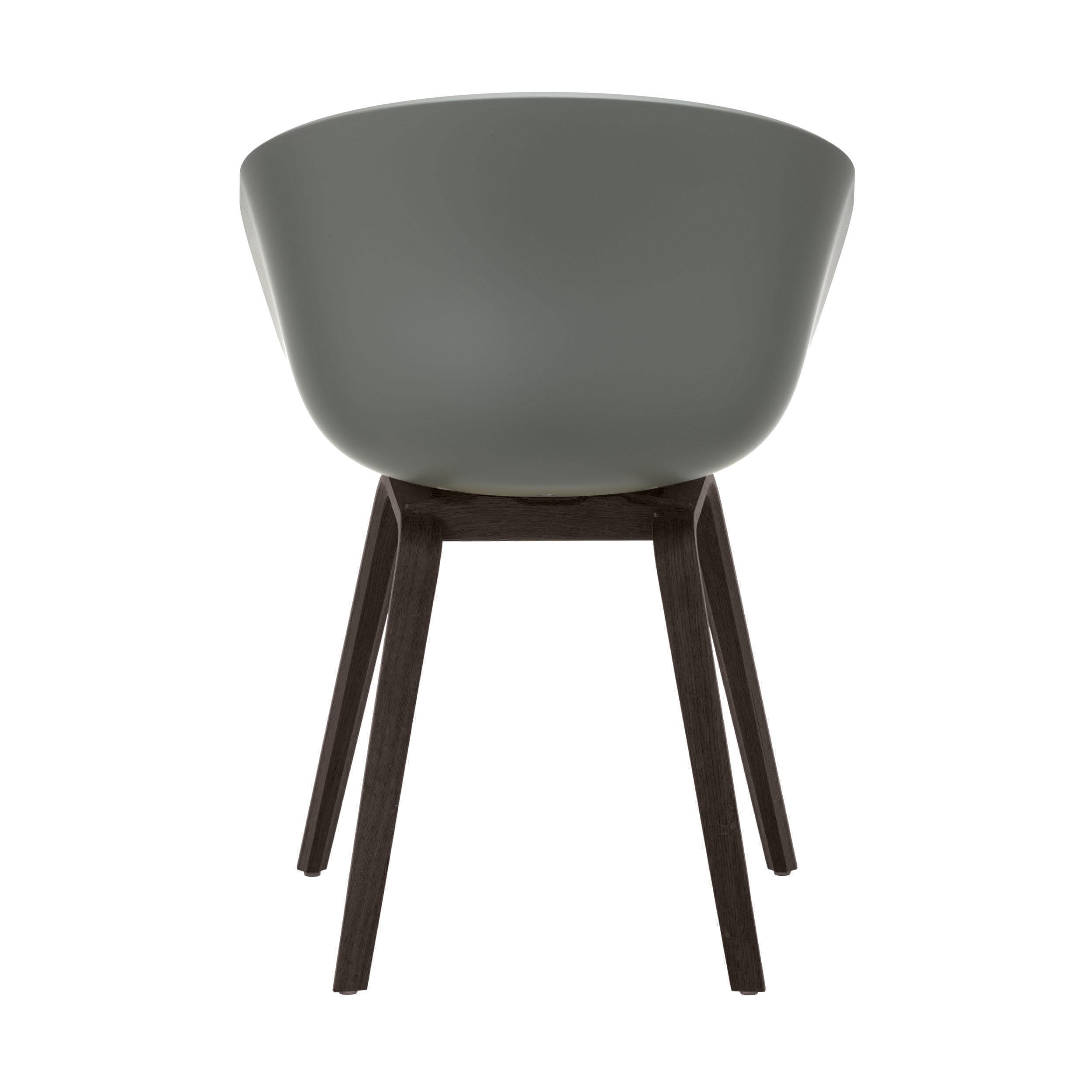 About a Chair AAC22 Stuhl gebeizt