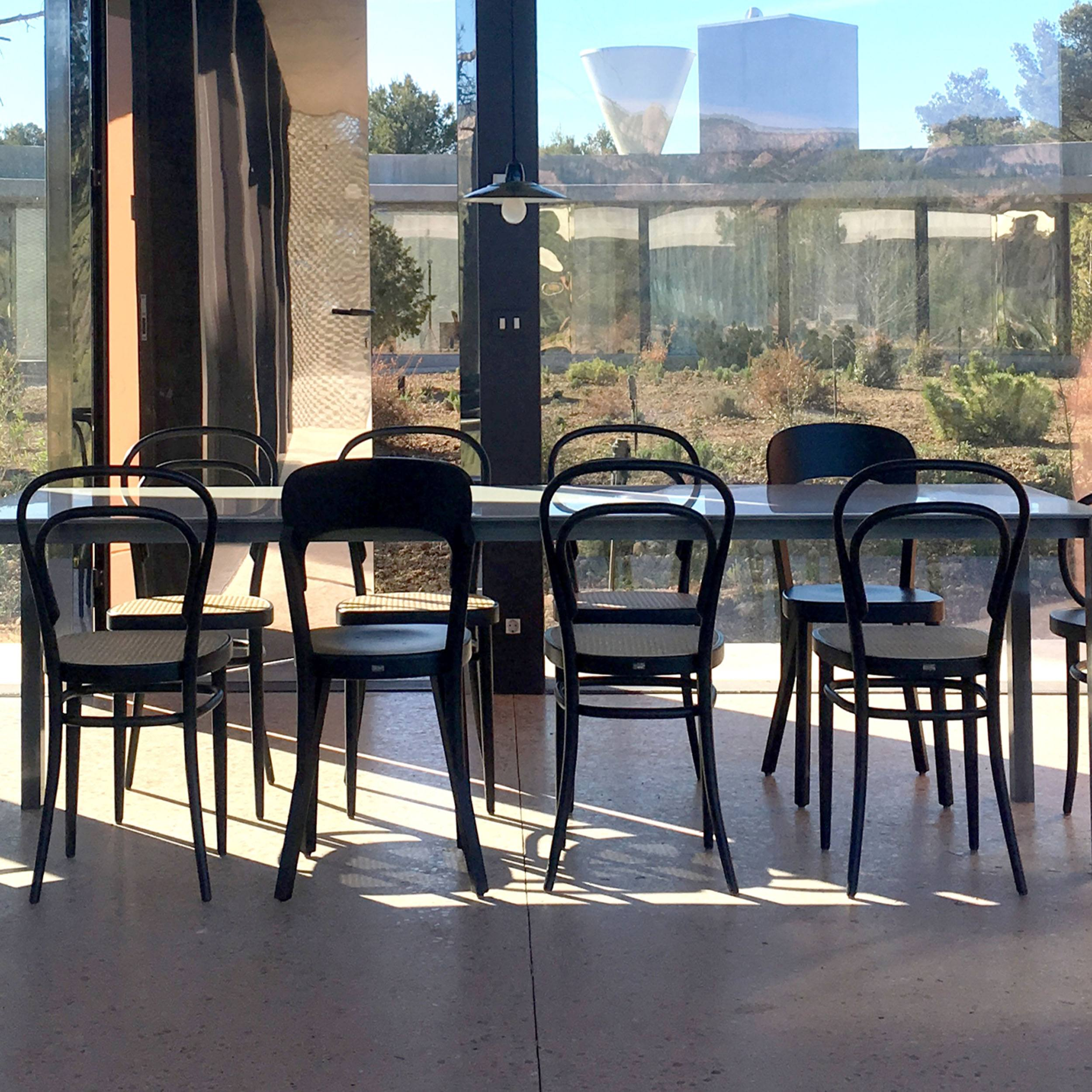 214 Stuhl mit Wiener Geflecht