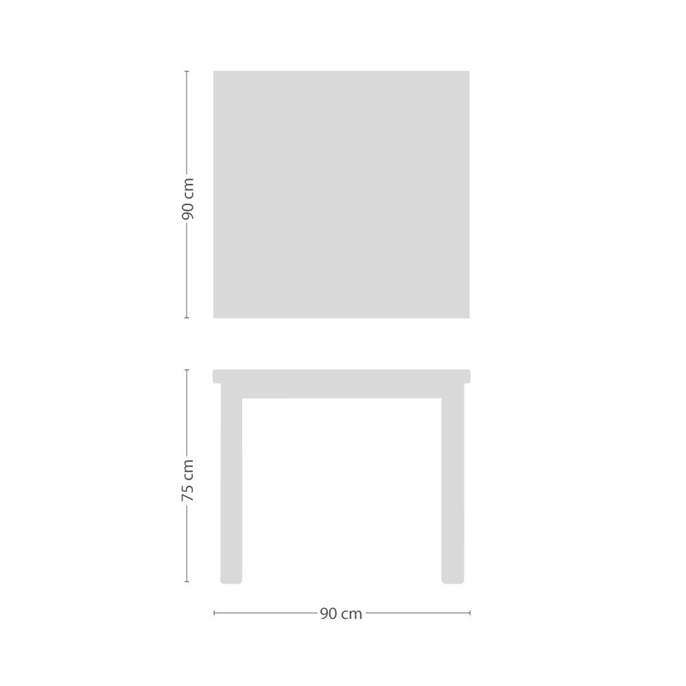 Star Tisch quadratisch