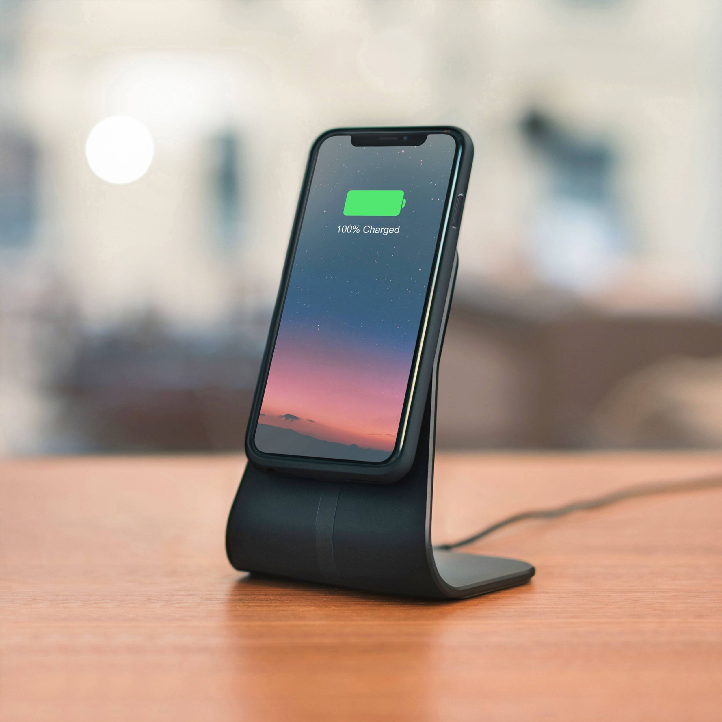 Magnetic Qi Charger Tisch Ladestation