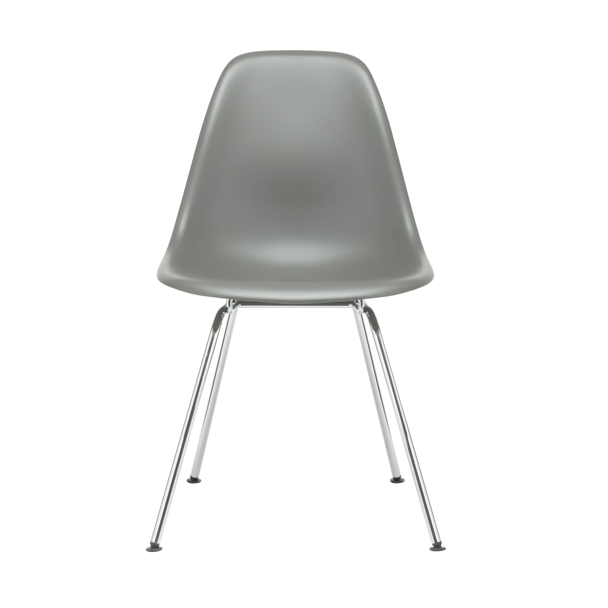Eames Plastic Side Chair Stuhl DSX mit Filzgleitern