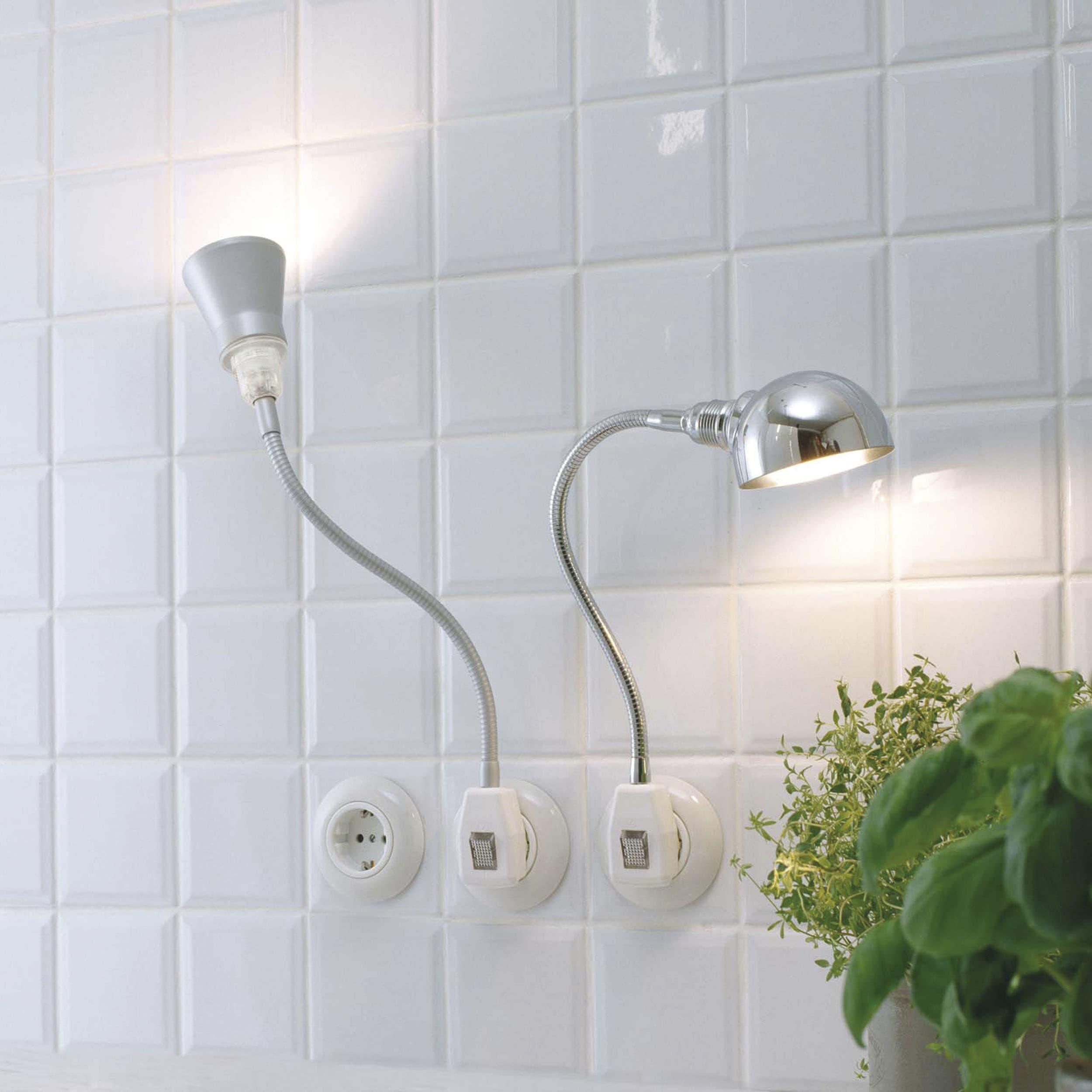 Glühwürmchen DeLight Alu-Kegelreflektor mit LED-Leuchtmittel