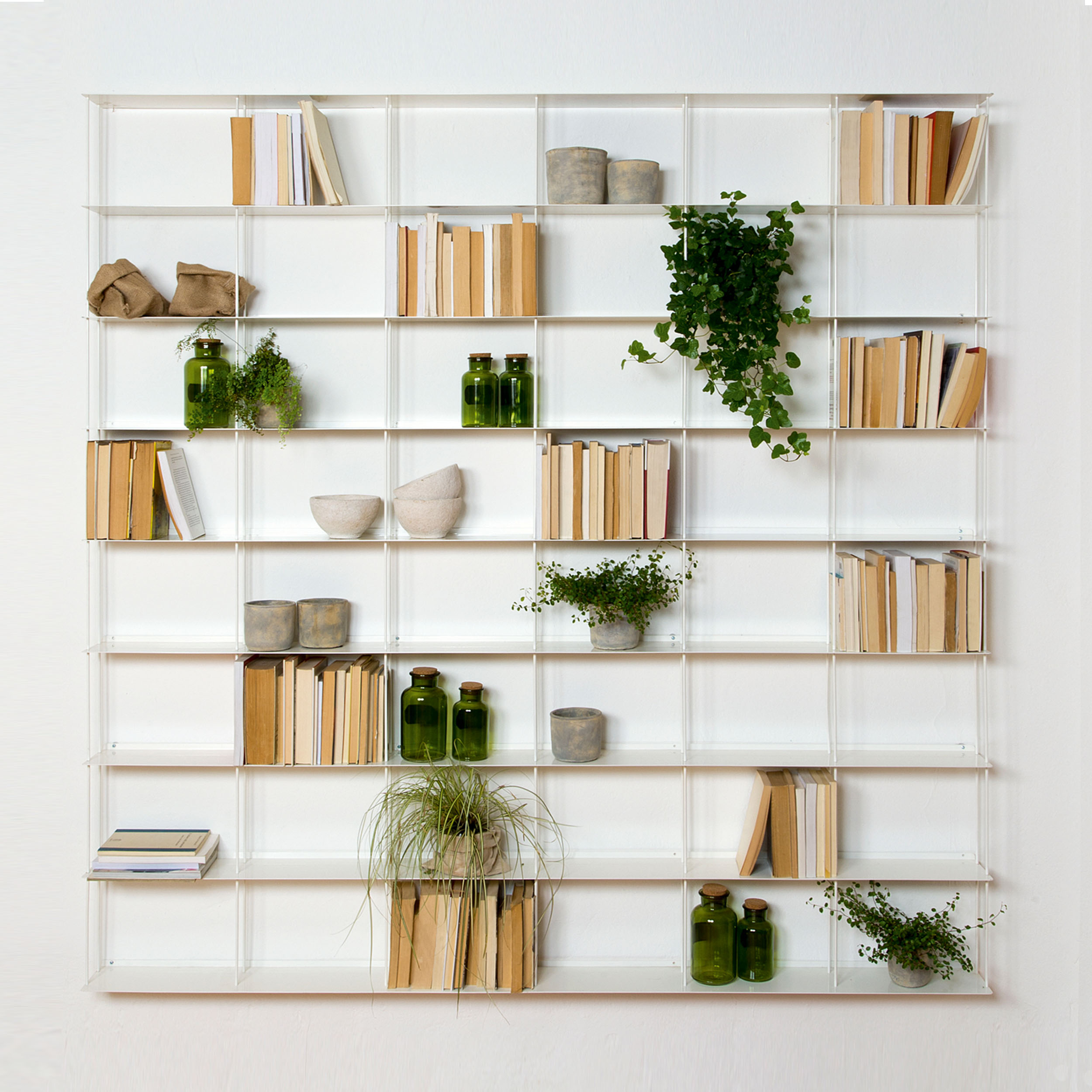 Krossing Regal für Bücher – 48 Fächer