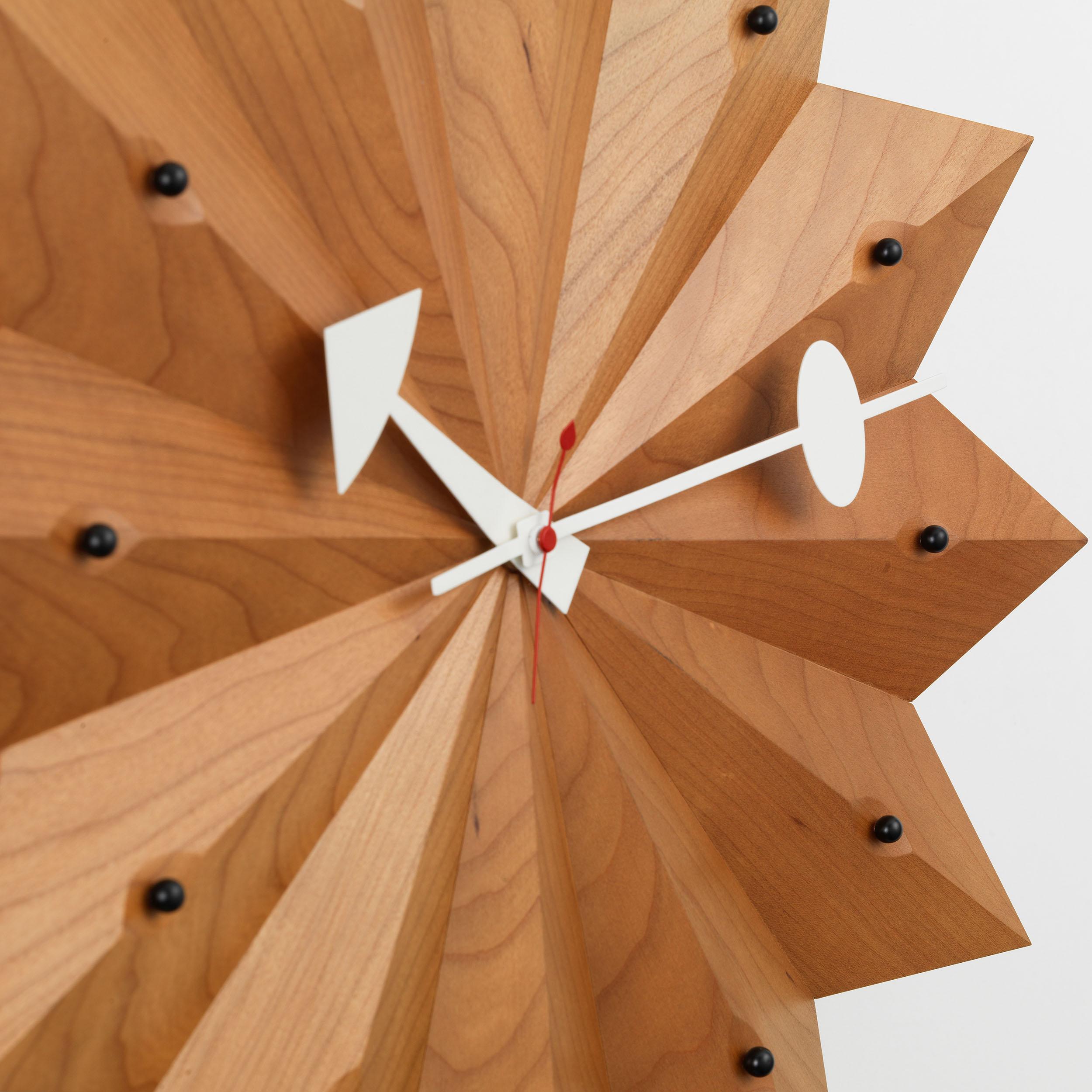 Fan Clock Wanduhr
