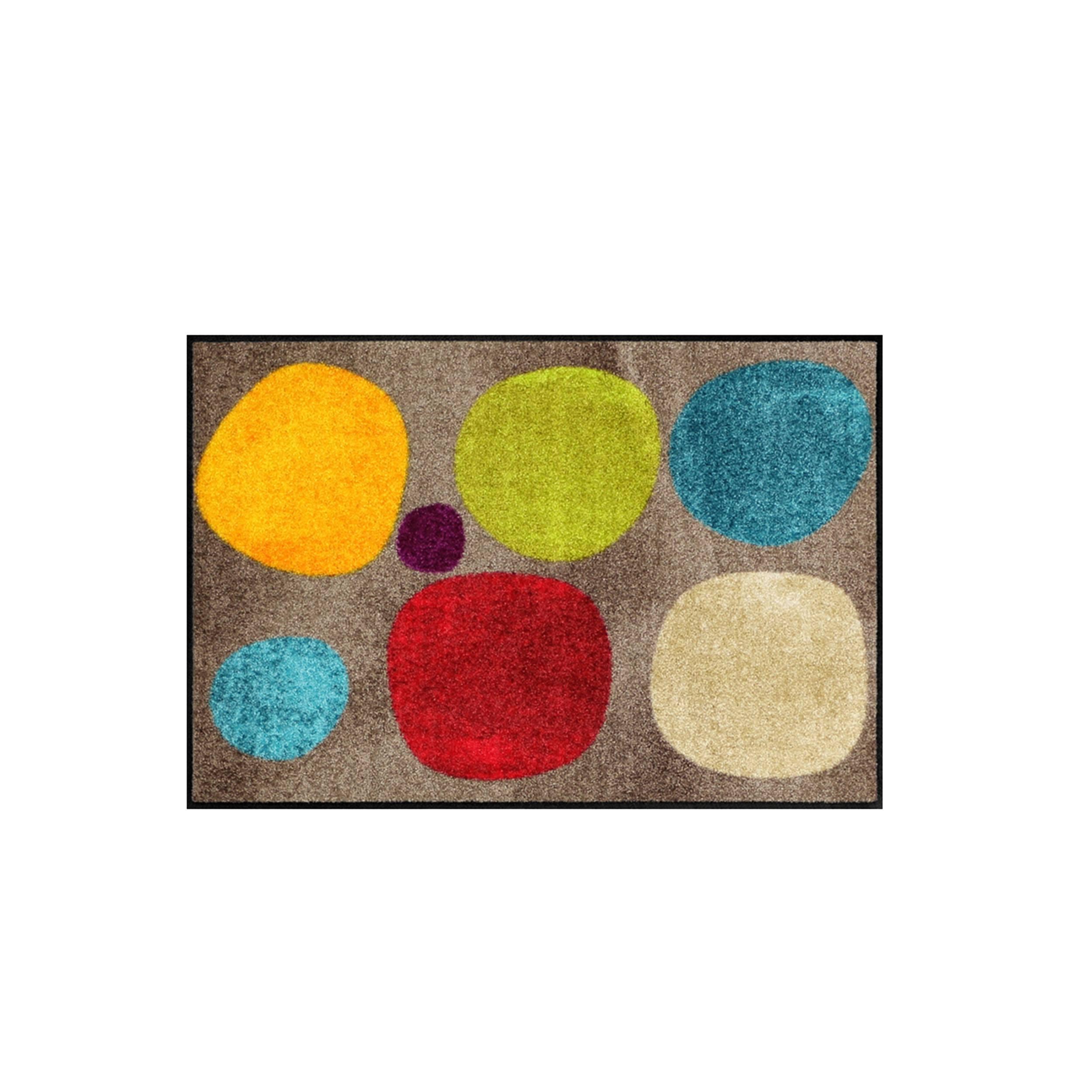 Broken Dots Sauberlaufmatte und Badteppich