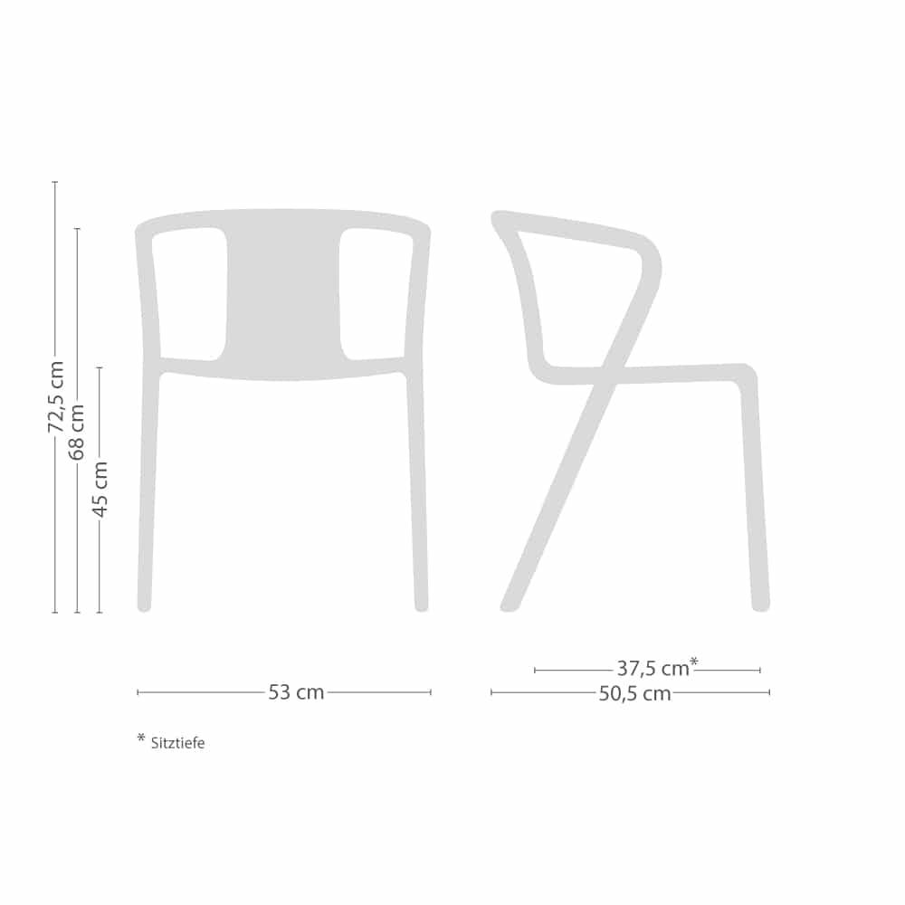 Air-Armchair Armlehnstuhl