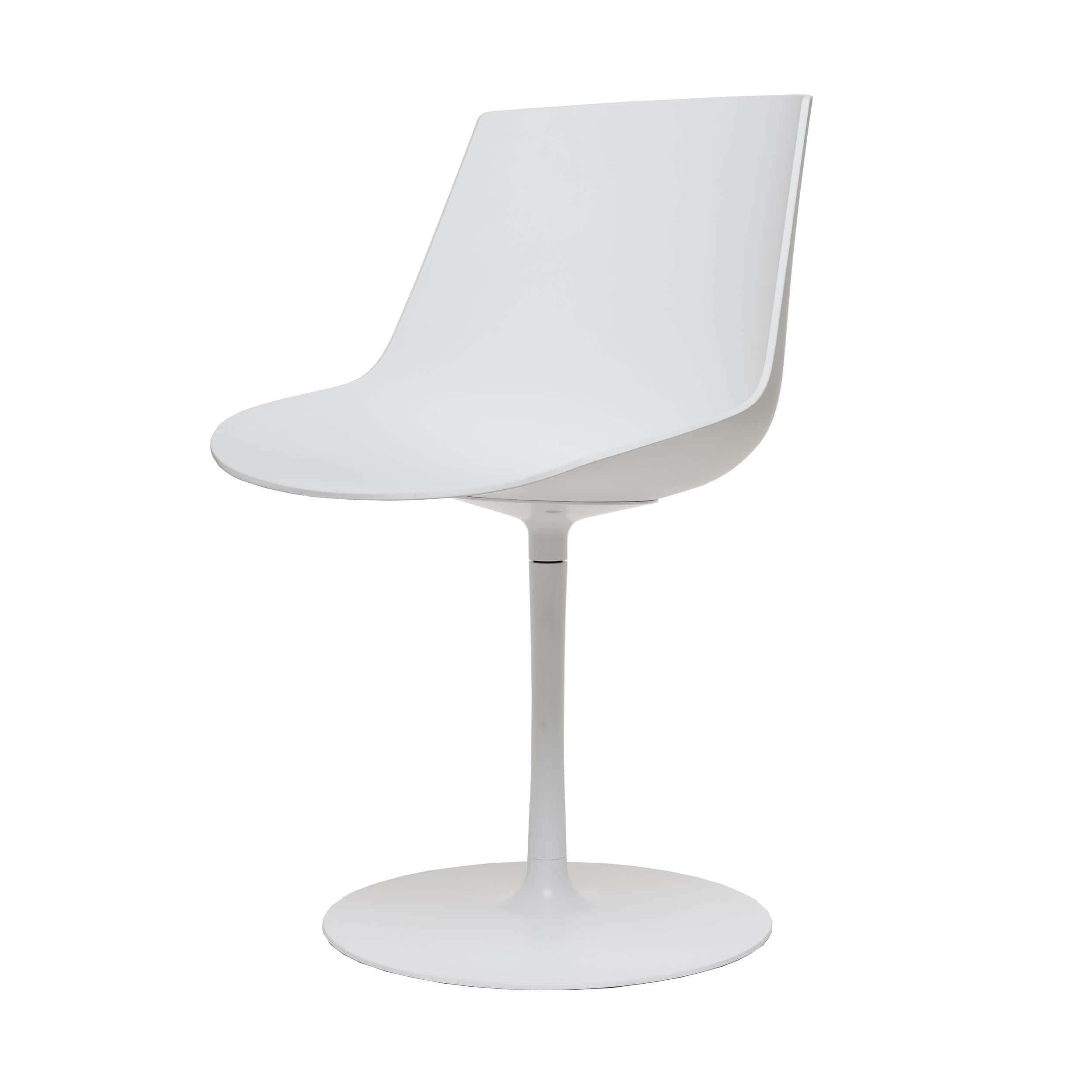 Flow Soft Stuhl mit Tellerfuß