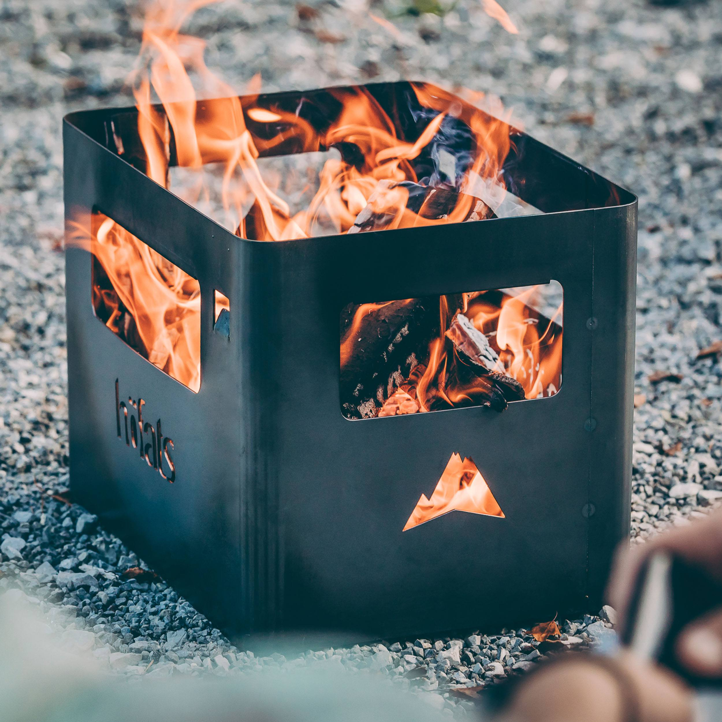 Beer Box Feuerkorb
