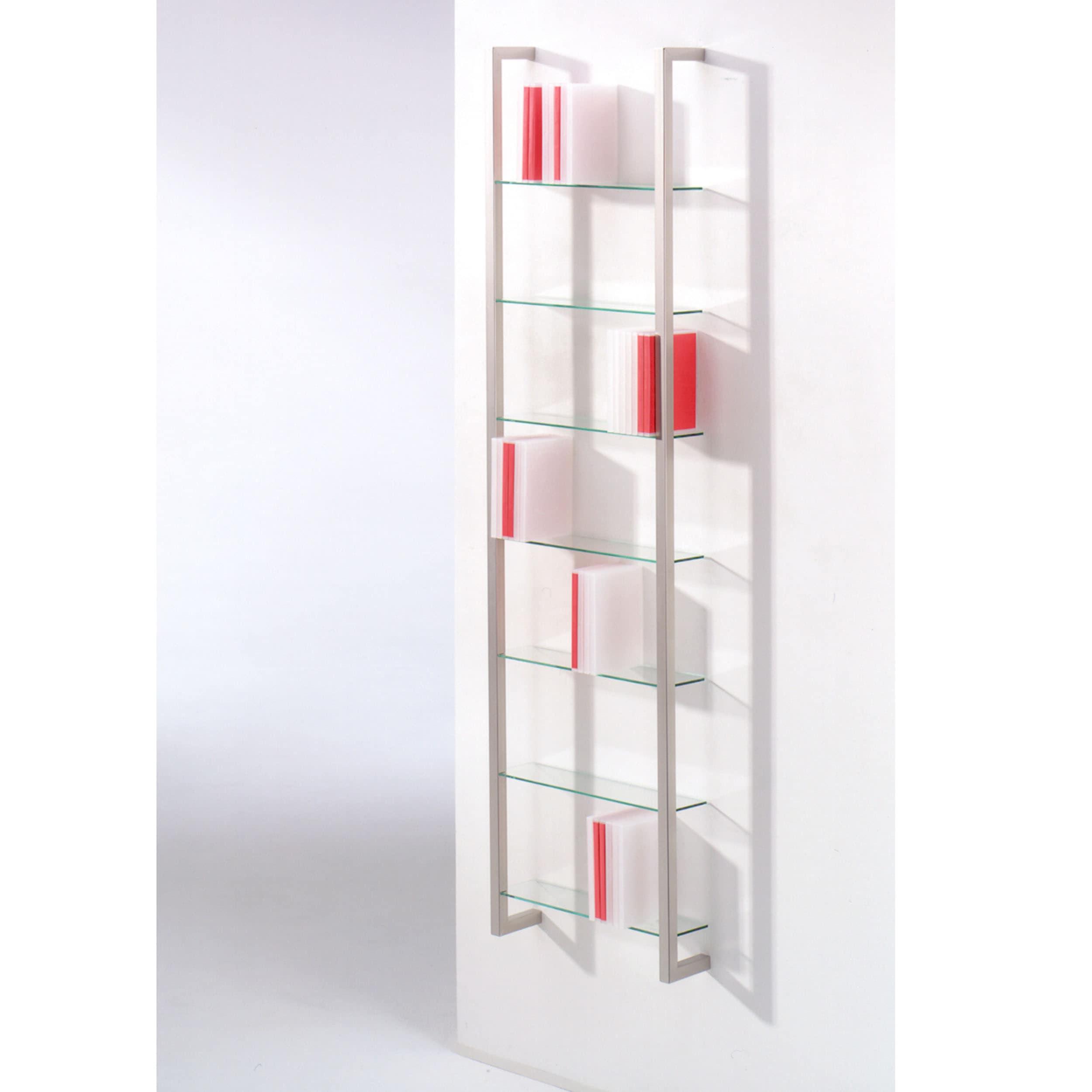 Cubic DVD Regal mit 7 Glasplatten