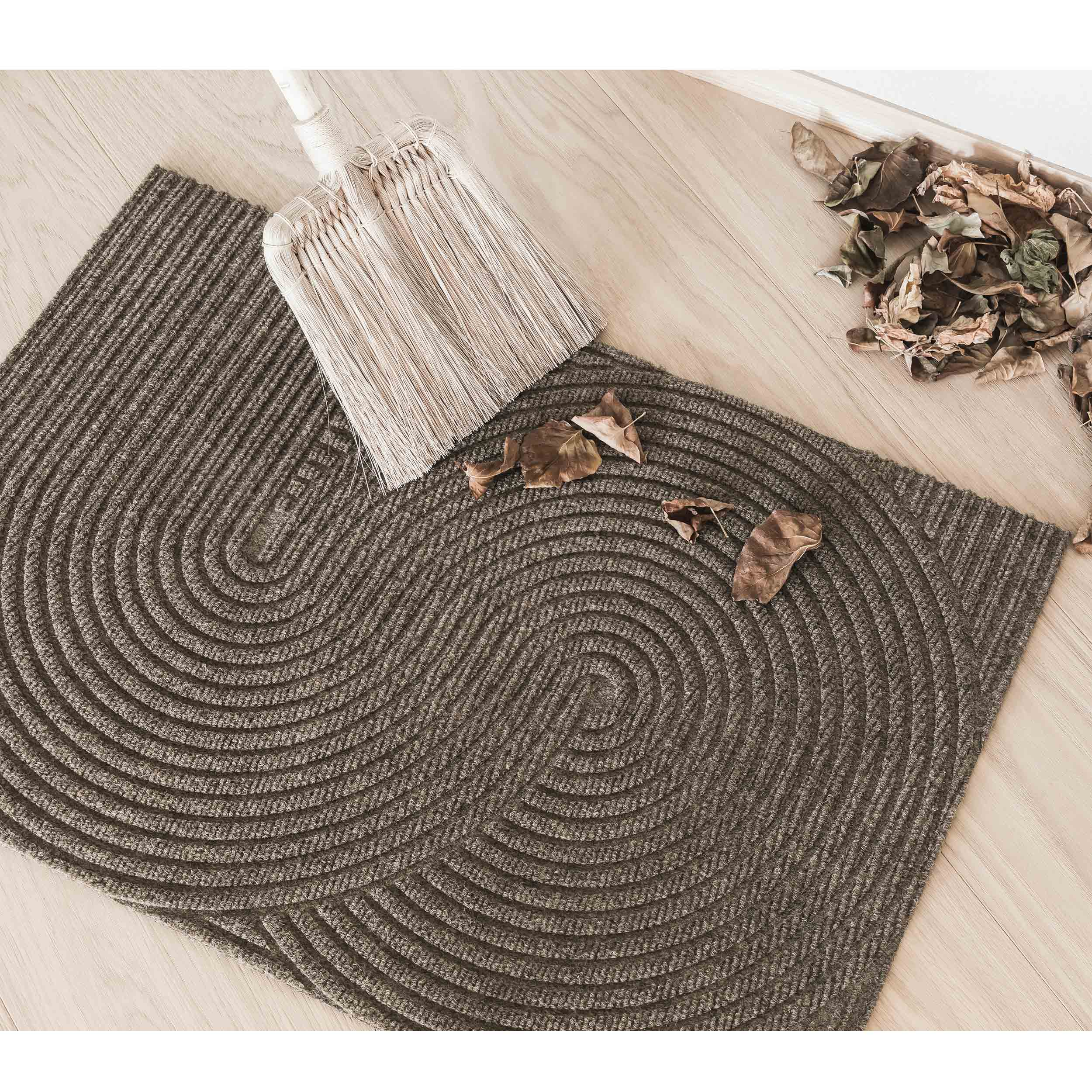 Sand Fußmatte und Teppich