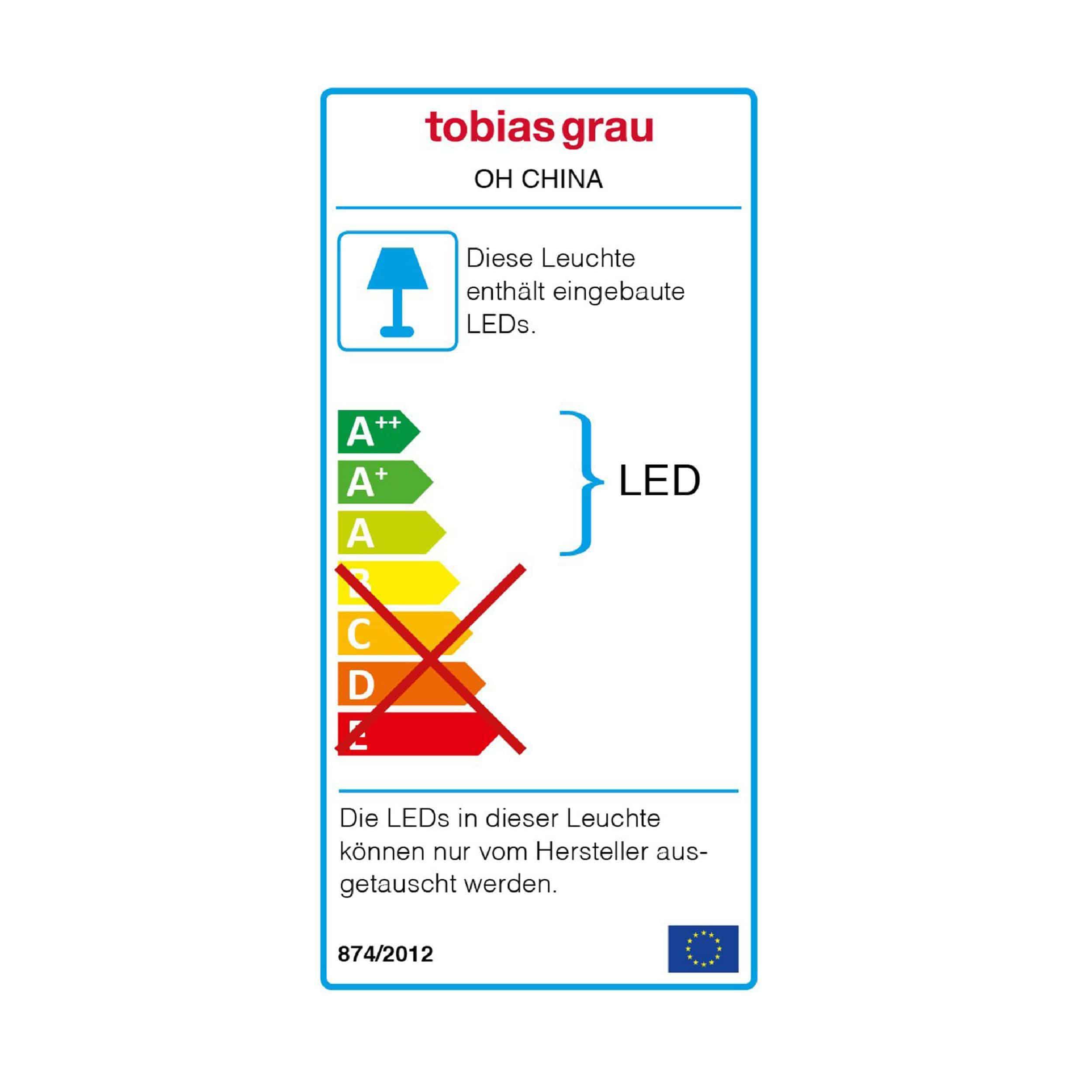 Oh China Up Round LED Pendelleuchte