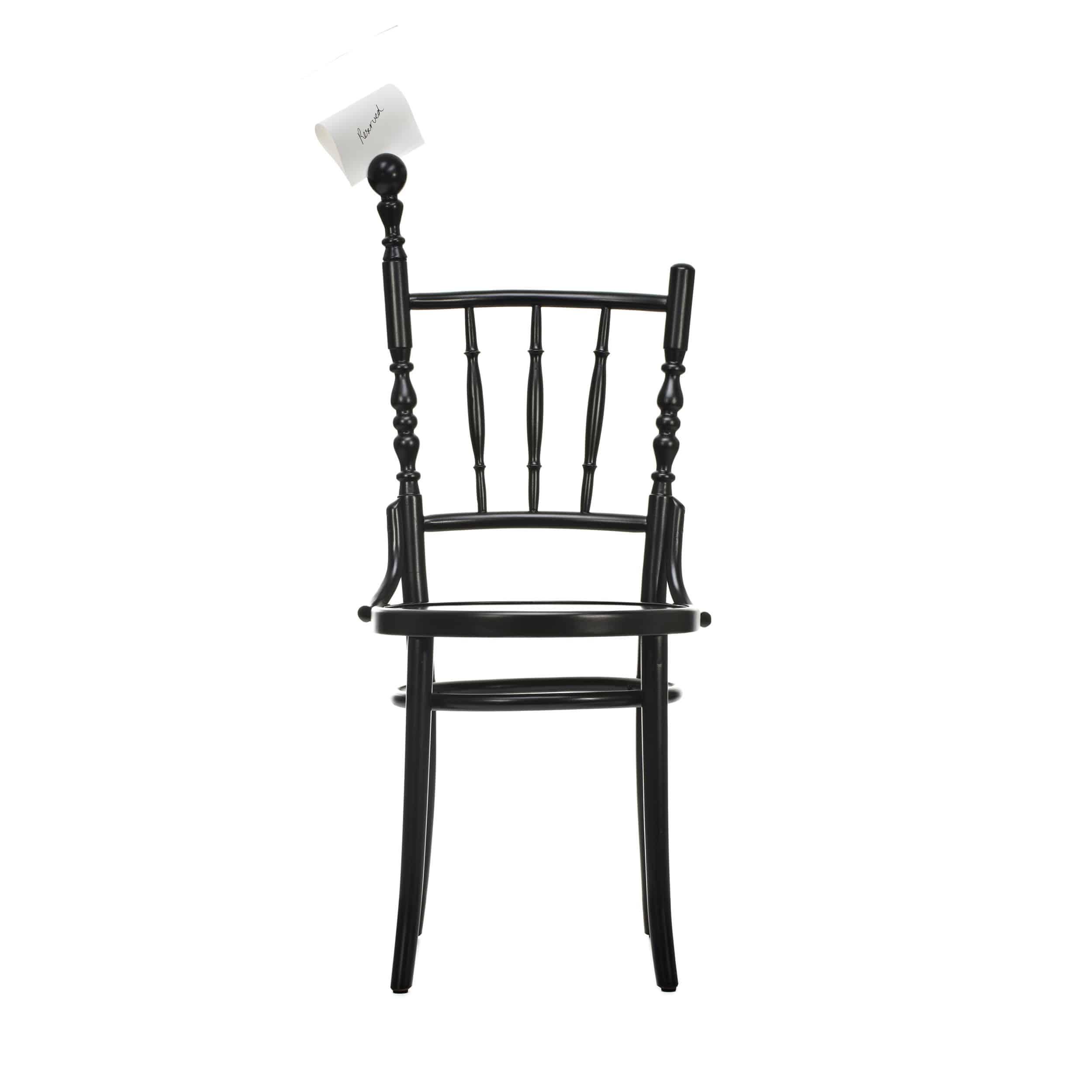 Extension Chair Stuhl mit Visitenkartenhalter
