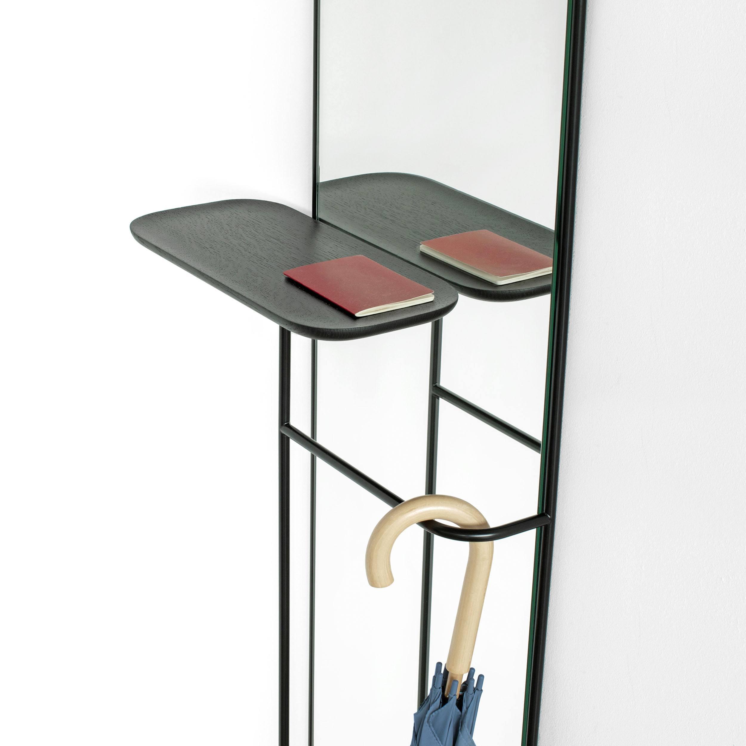 Concierge Wandspiegel mit Ablage