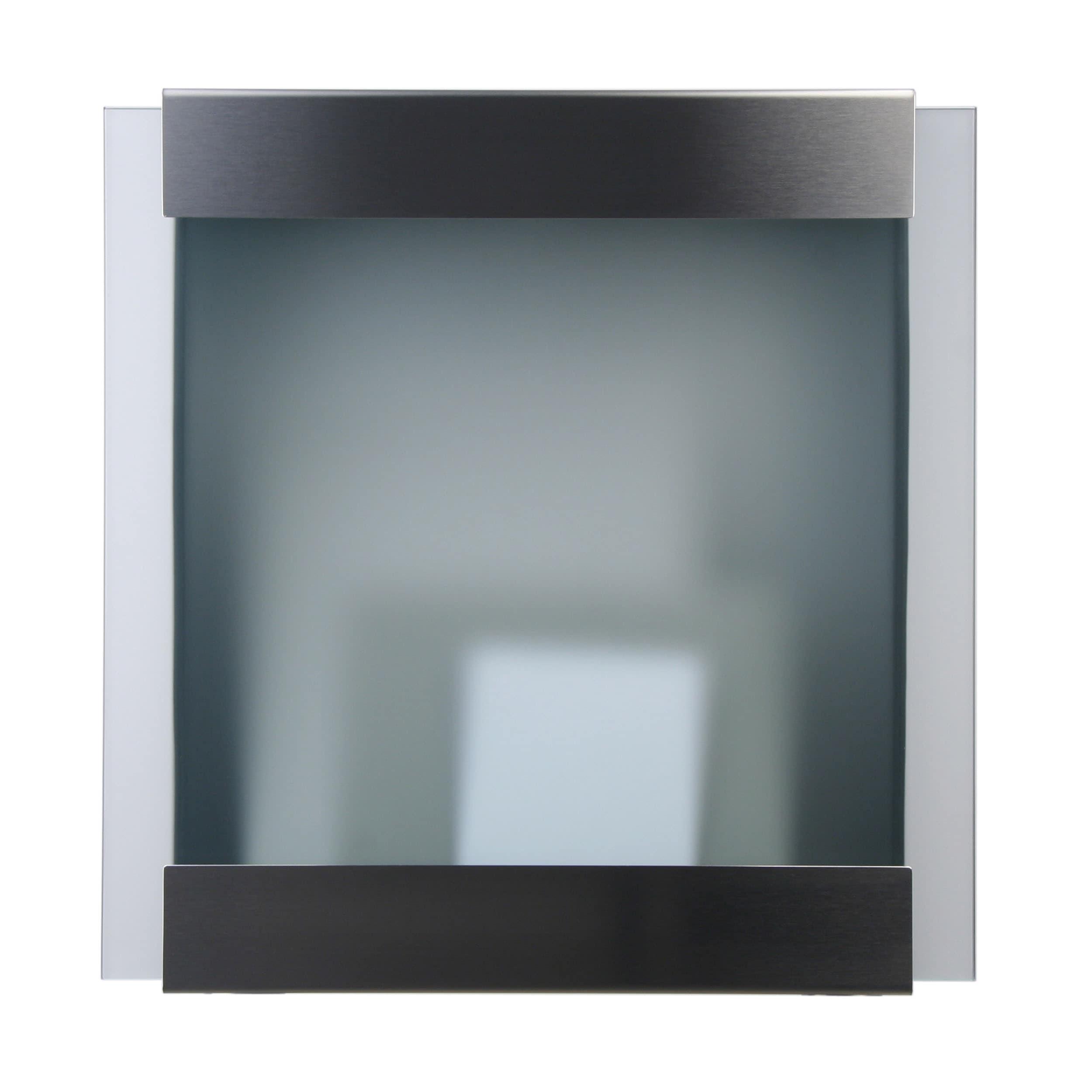 Glasnost Glass Briefkasten