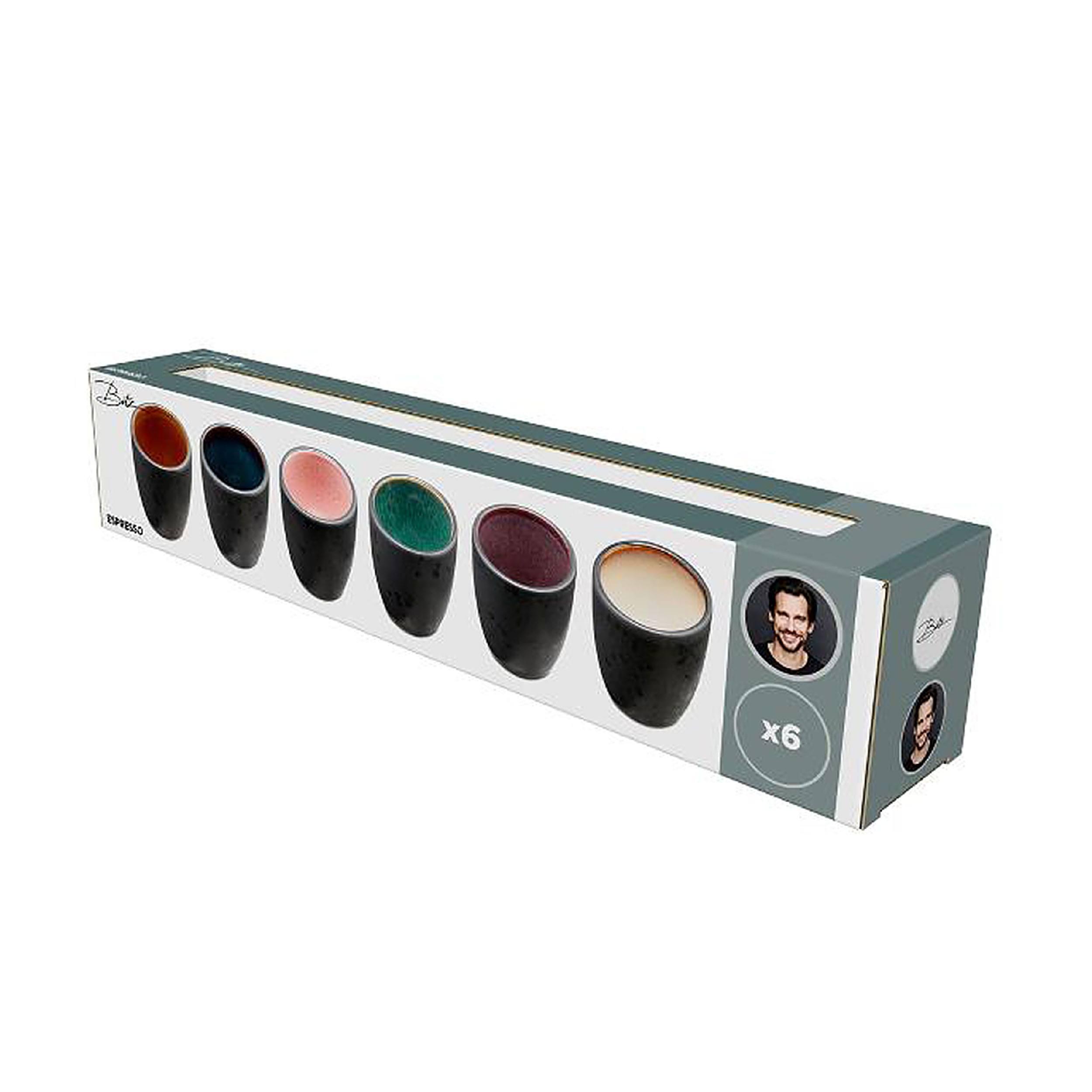 Bitz Espressotasse 6er-Set