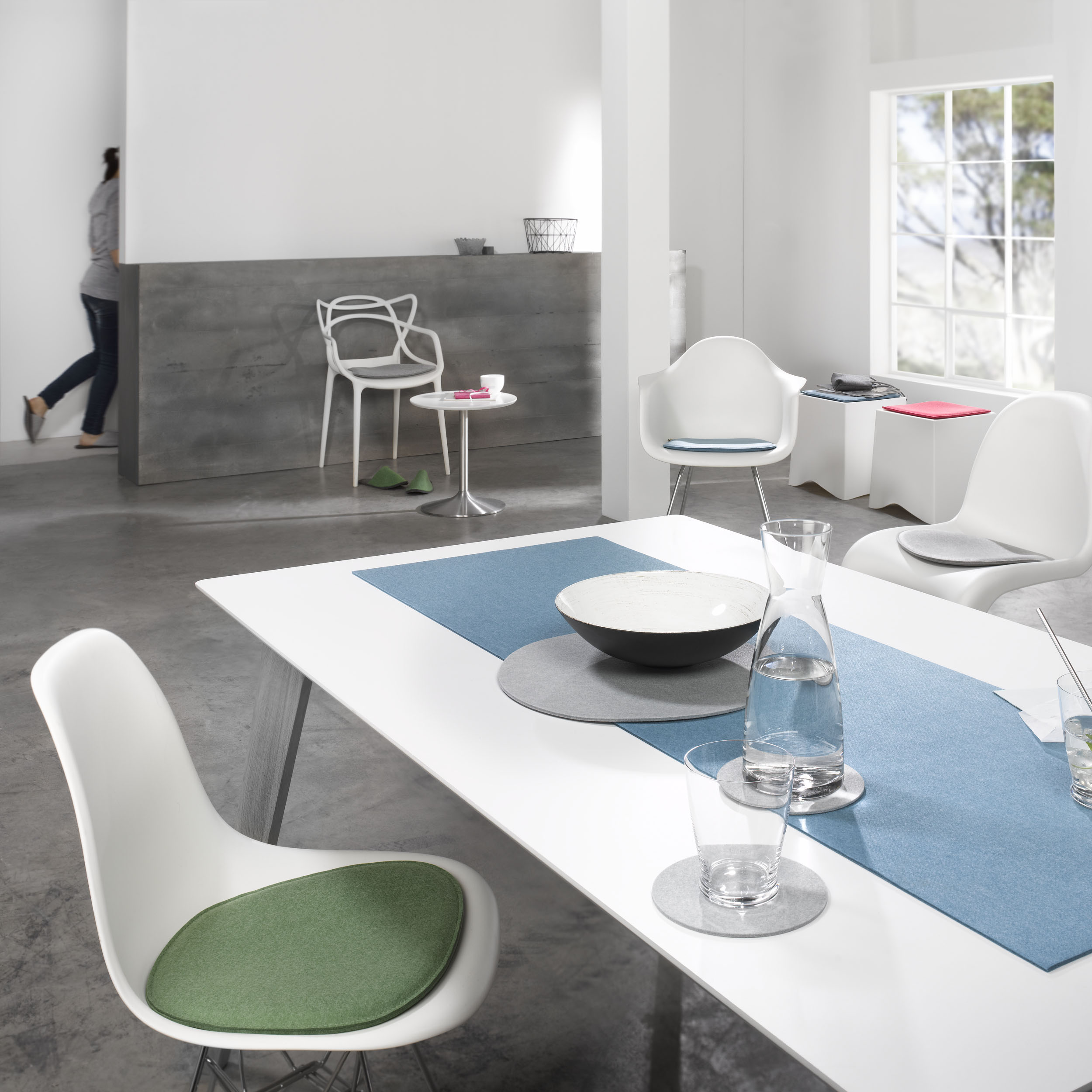 Violan Sitzkissen für Eames Side Chair