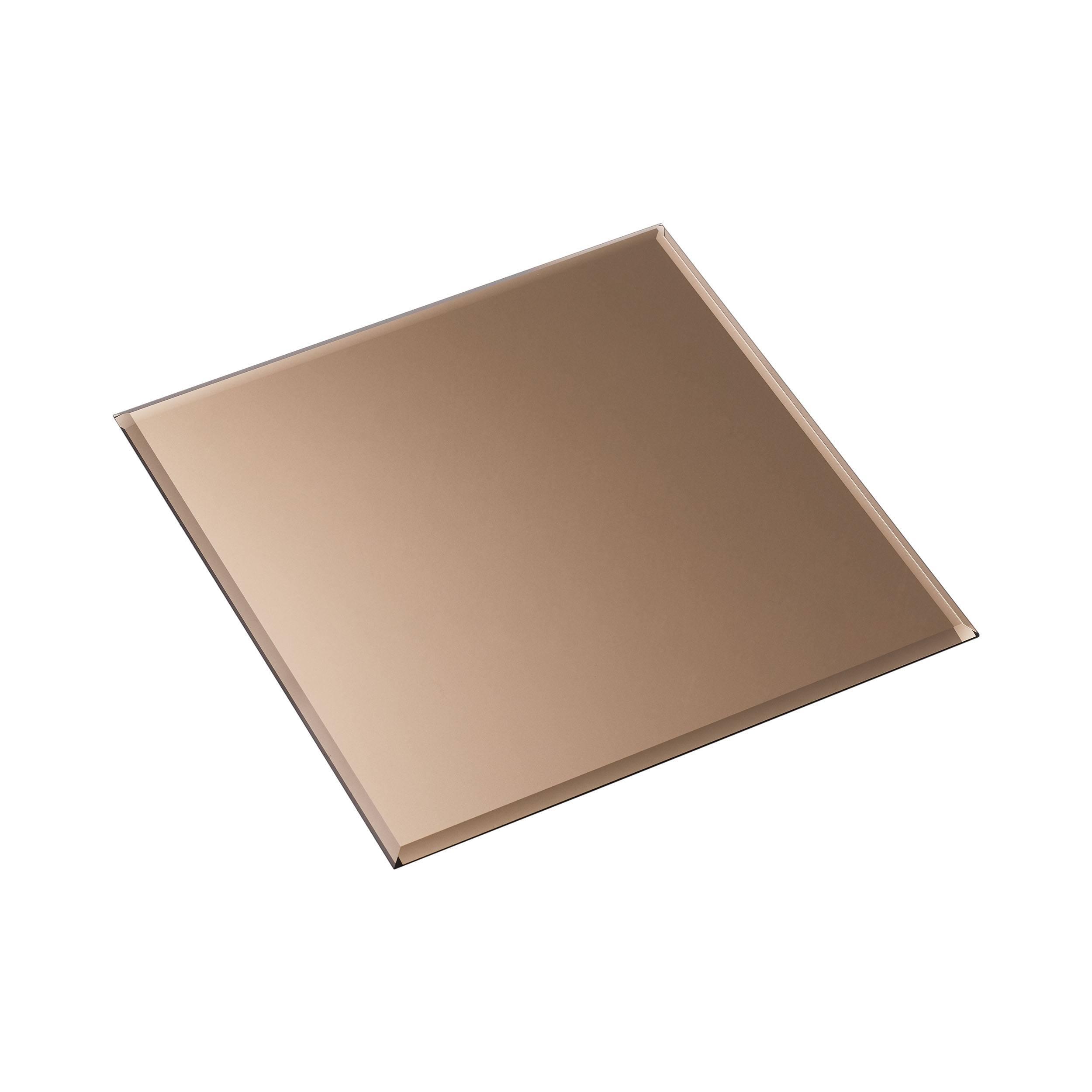 Stoff Glass Untersetzer quadratisch